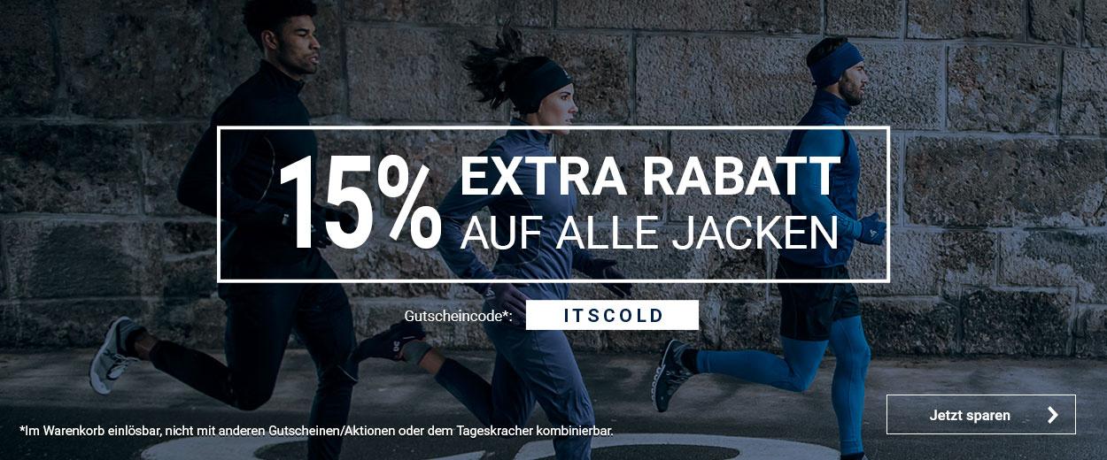 15% auf Jacken