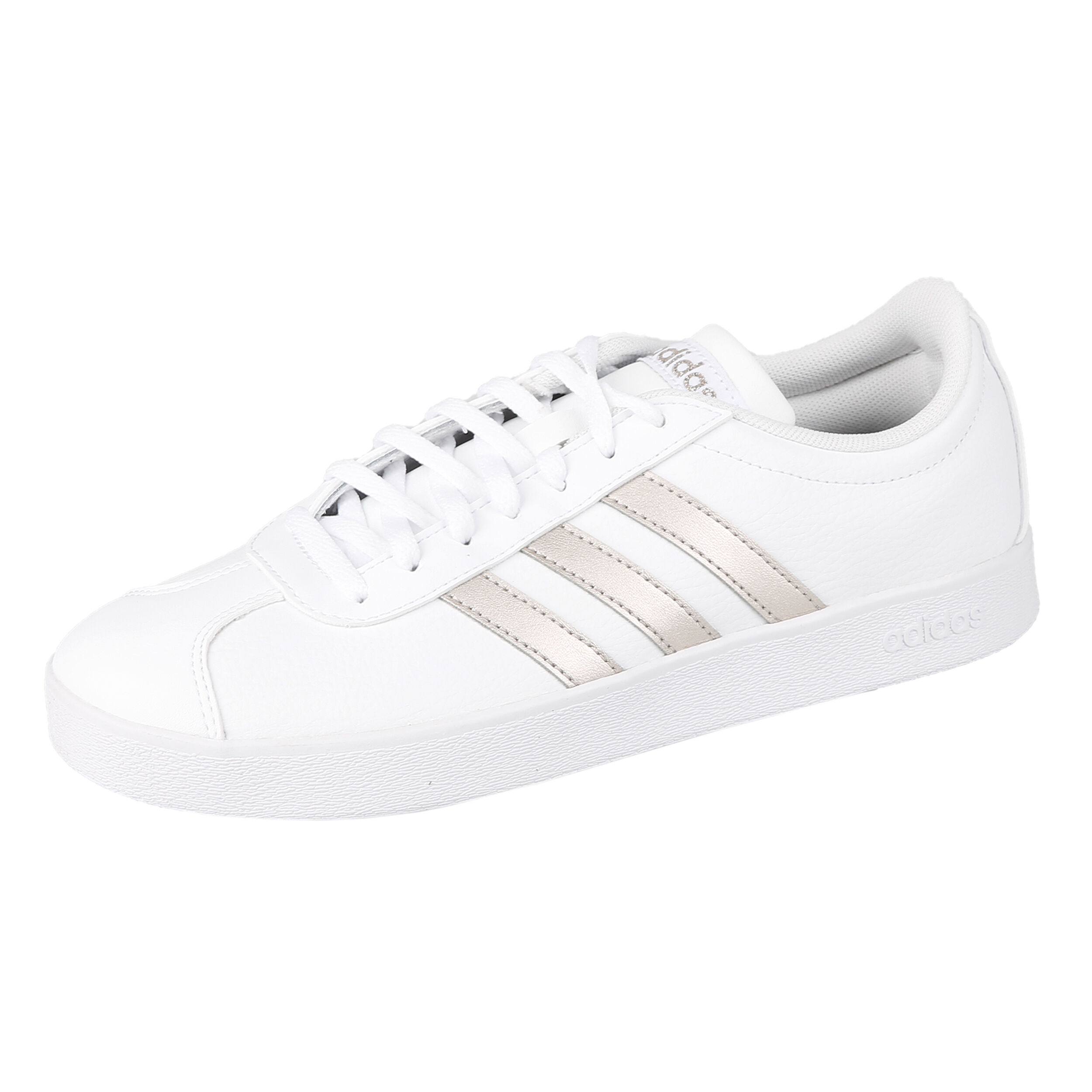 adidas VL Court 2.0 Sneaker Damen - Weiß, Gold online kaufen ...