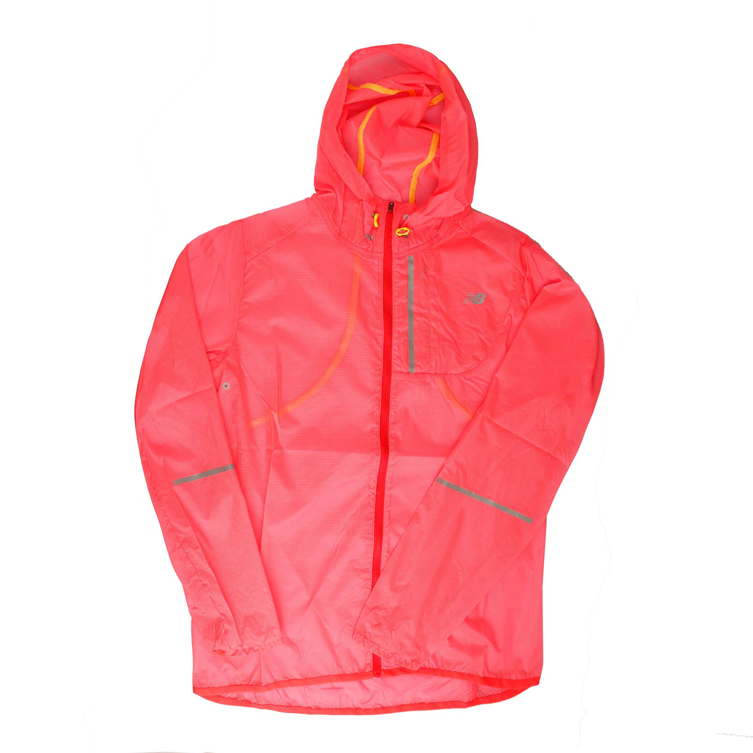 New Balance Lite Packable Laufjacke Damen Rosa online