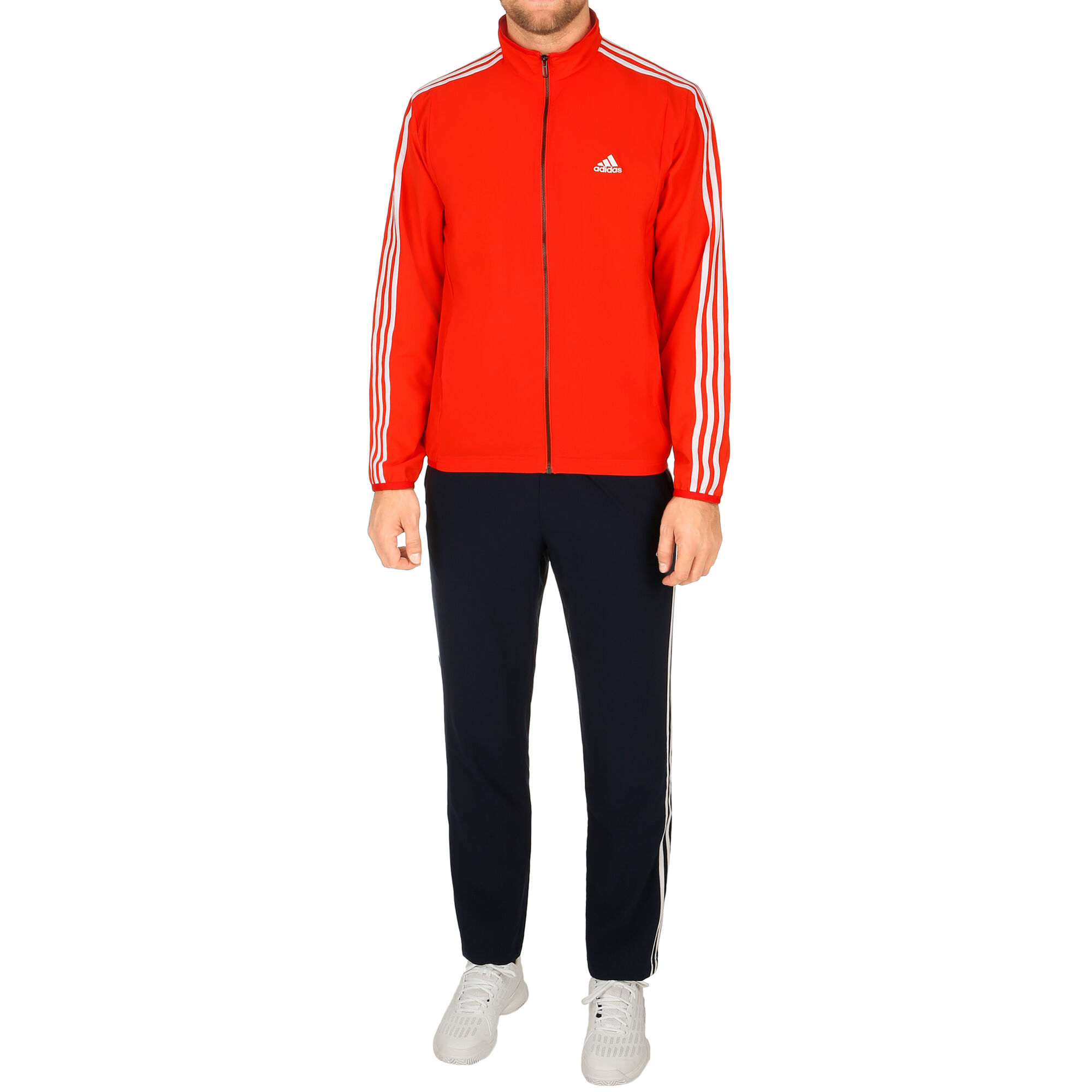 82f2f88707 adidas Woven Light Trainingsanzug Herren - Rot, Dunkelblau online ...
