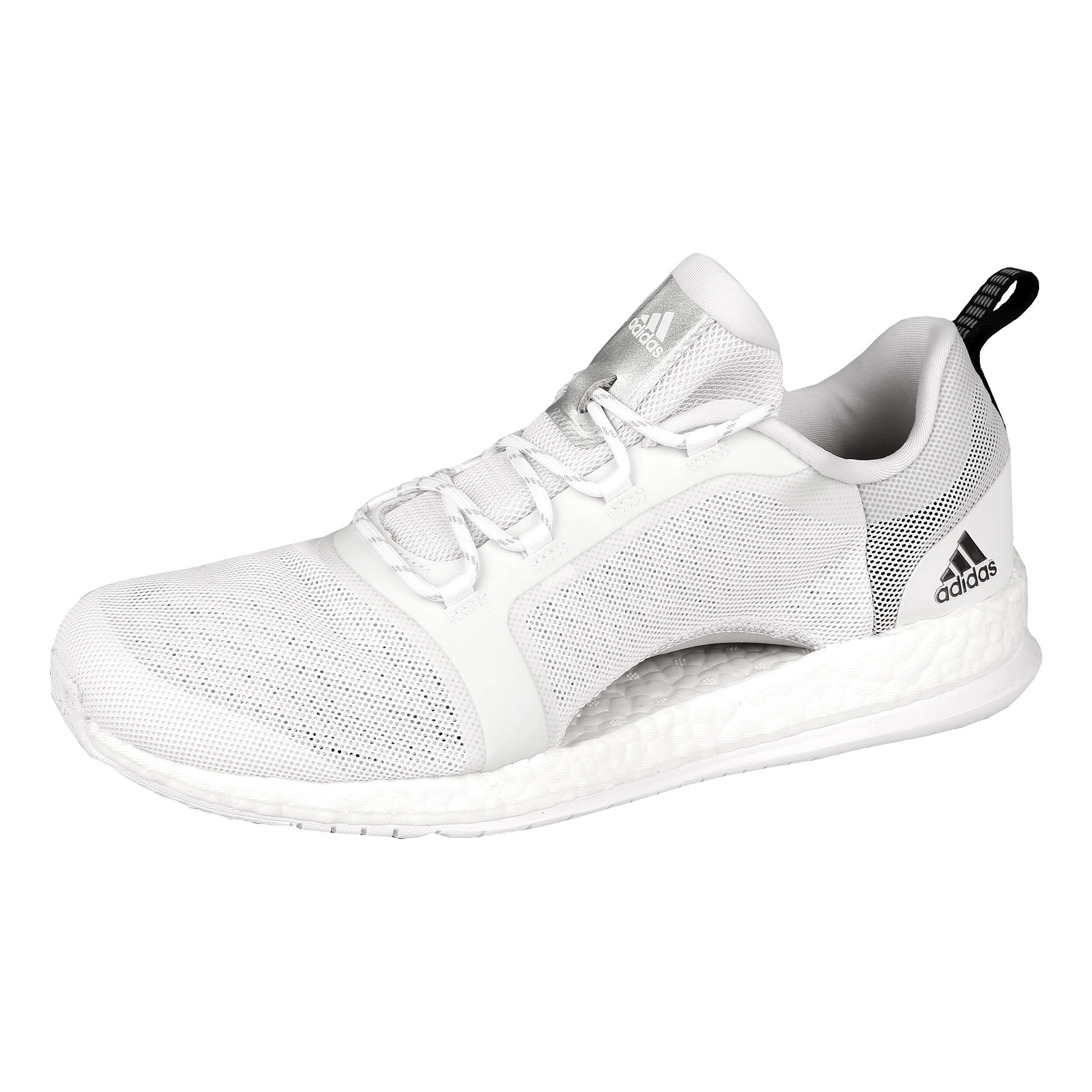 adidas PureBOOST X TR 2 Fitnessschuh Damen Weiß, Silber
