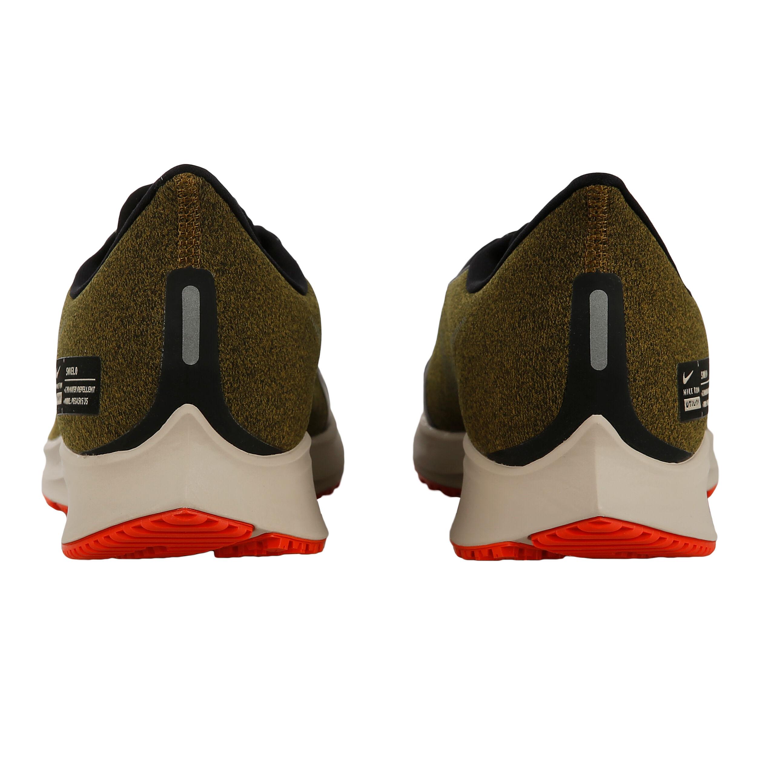 Nike Air Zoom Pegasus 35 Shield Neutralschuh Herren Oliv