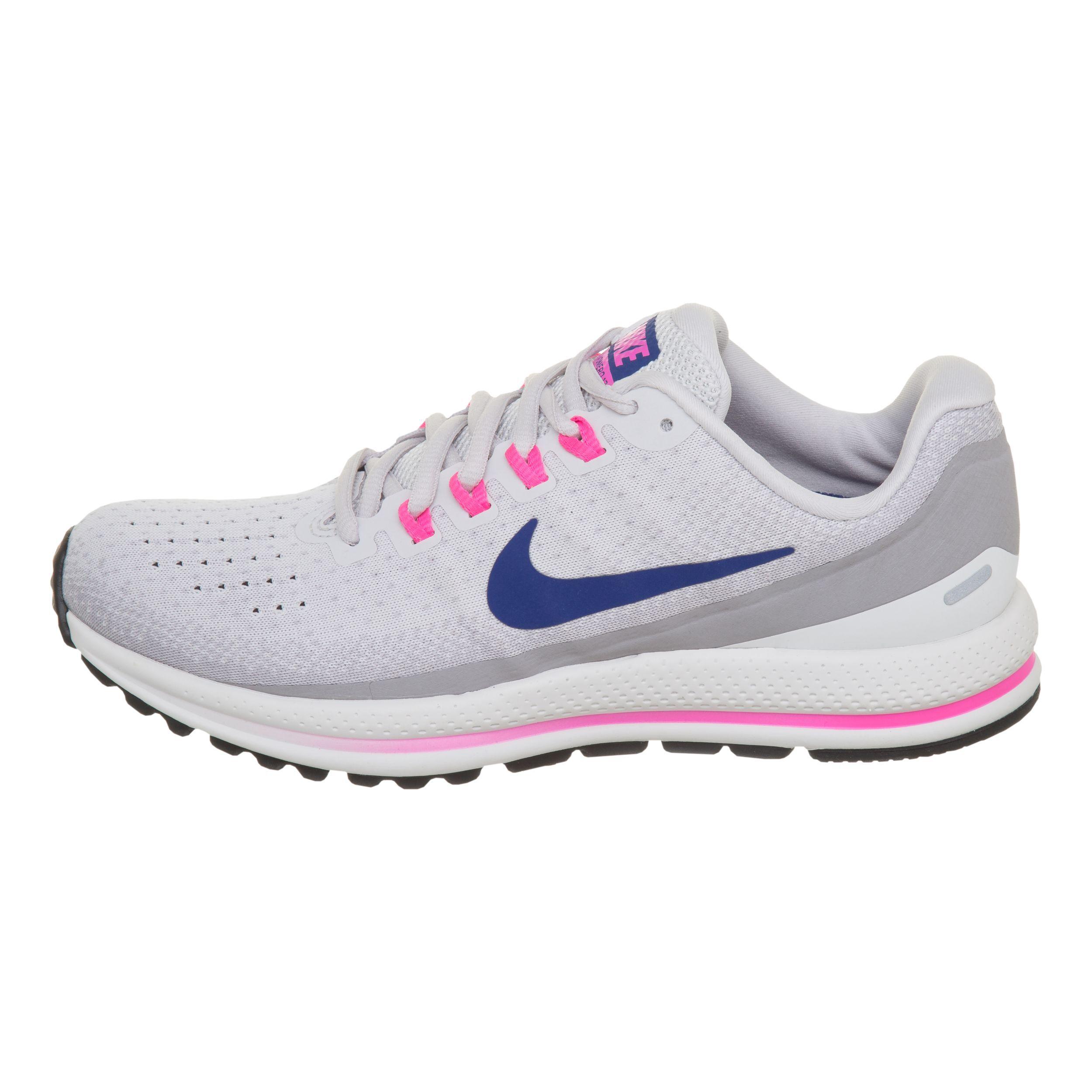 Nike Air Zoom Vomero 13 Neutralschuh Damen Hellgrau, Pink