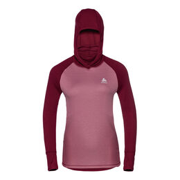 Top with Facemask Longsleeve Active Revelstoke Warm Women