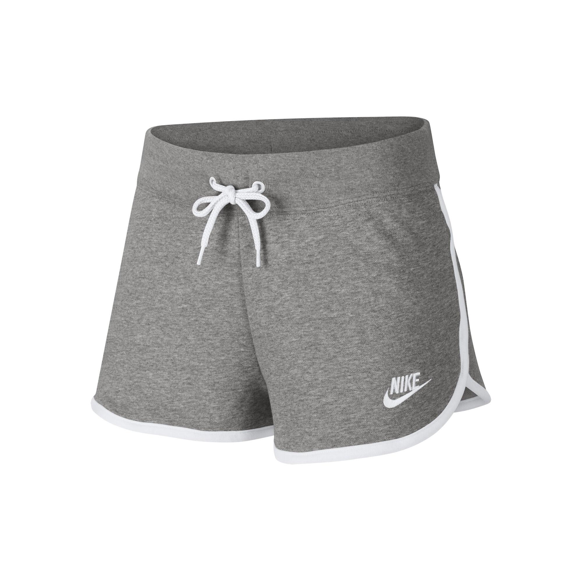 379a39cedd556 Nike Sportswear Shorts Damen - Grau, Weiß online kaufen | Jogging-Point