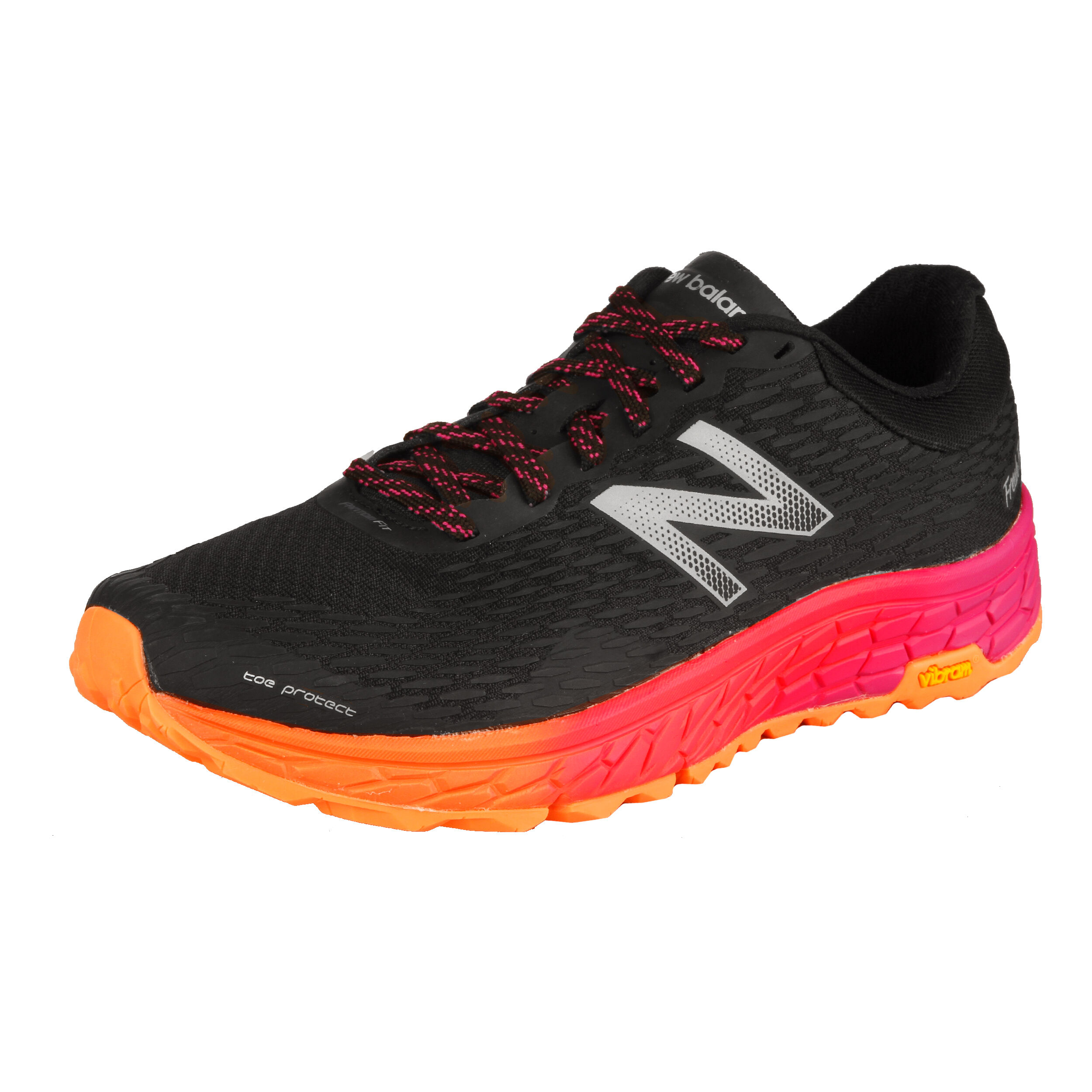 Laufschuhe New Balance Fresh Foam Hierro v2 schwarzpink Damen