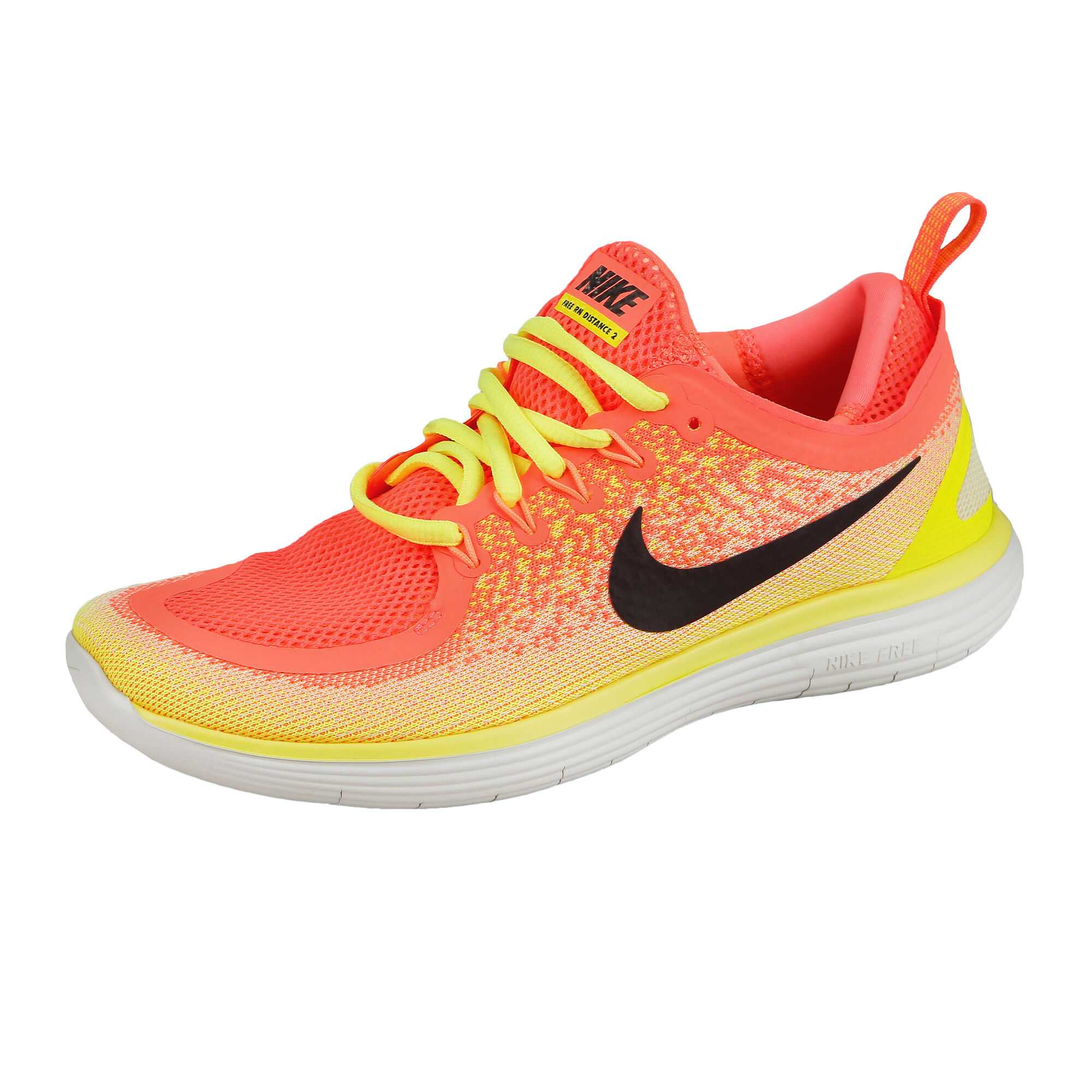 86d3f000bbdb56 Nike Free RN Distance 2 Natural-Running Schuh Damen - Orange