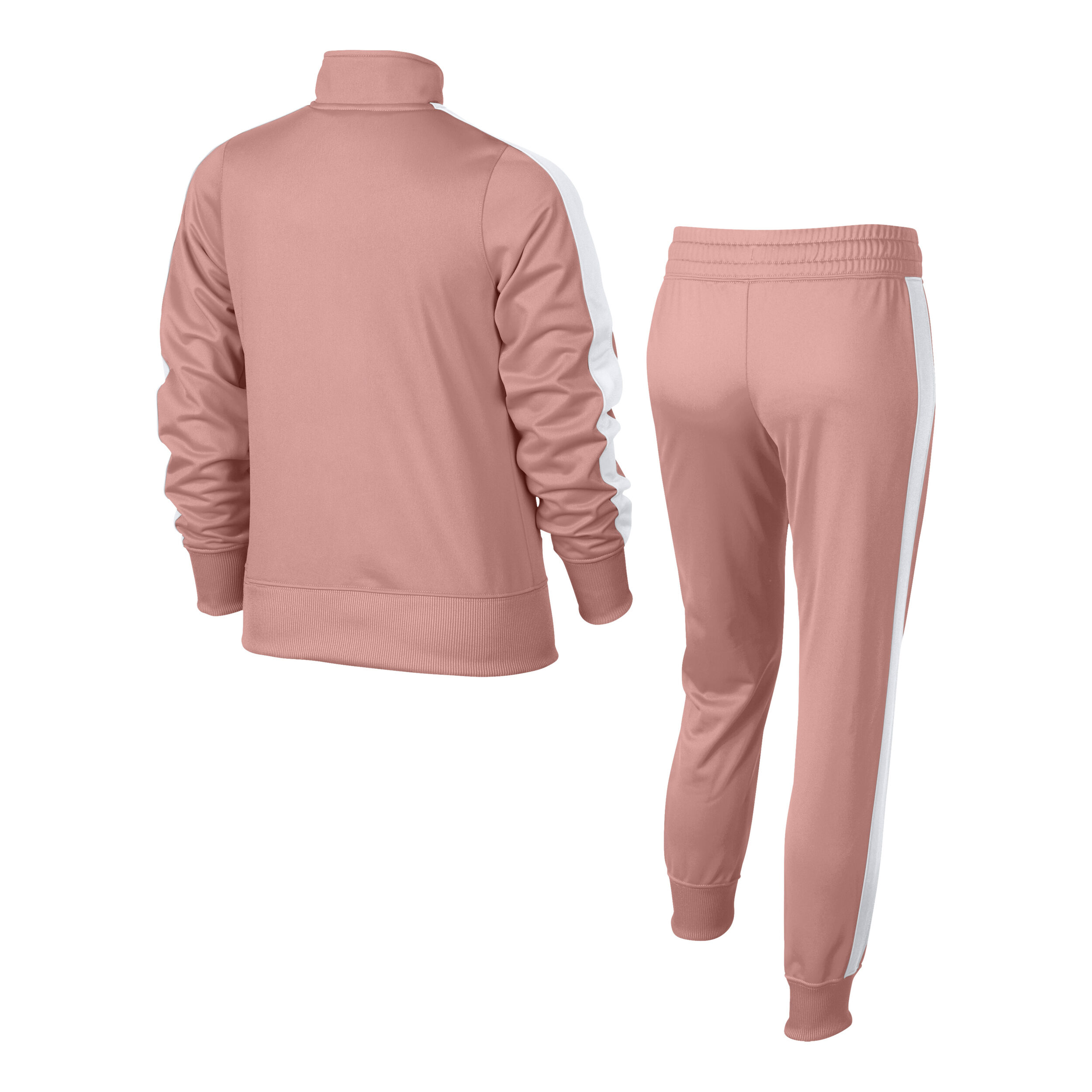 Nike Sportswear Tricot Trainingsanzug Mädchen Rosa, Weiß