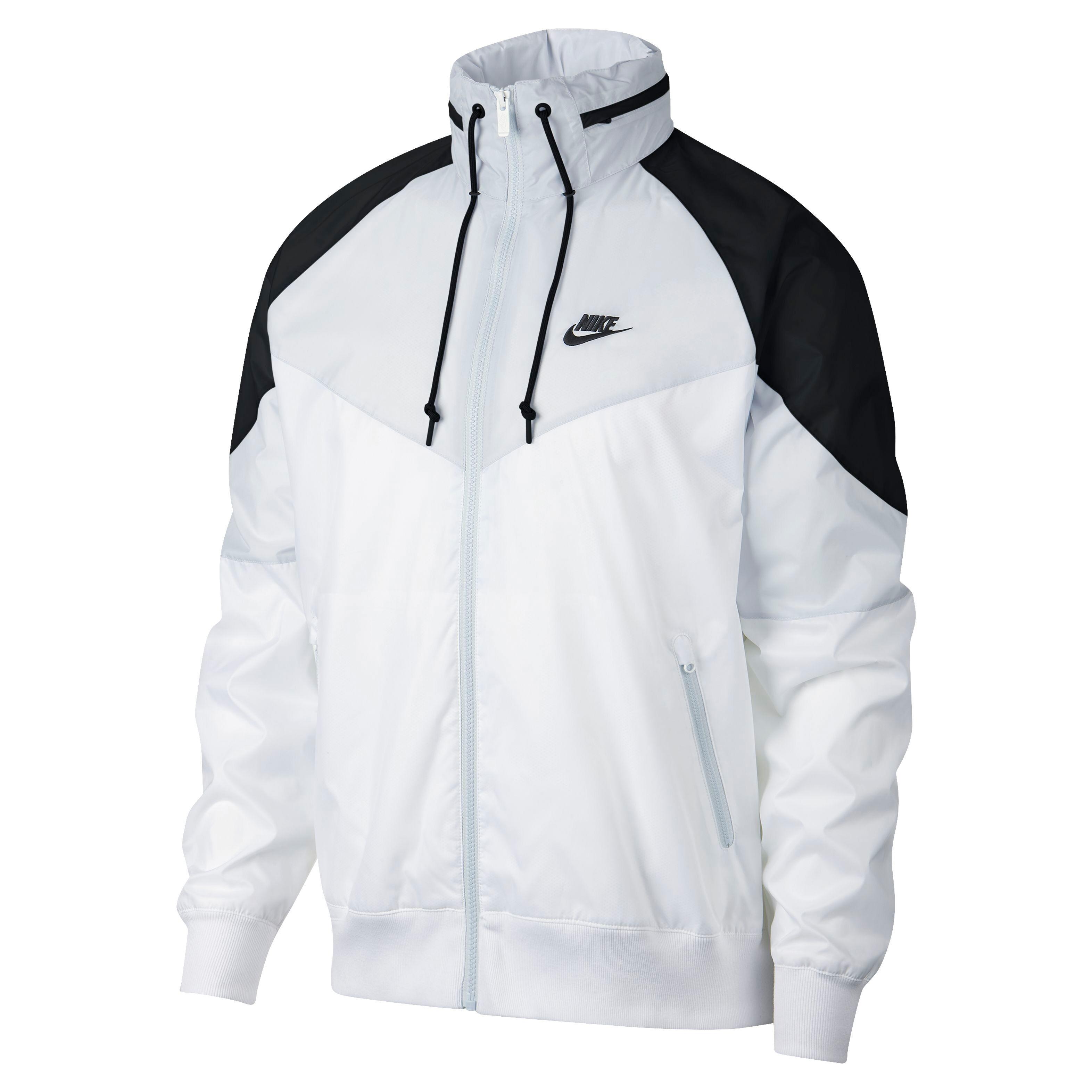 Nike Kapuzenjacke Sportswear Windrunner Jacket weißgrau