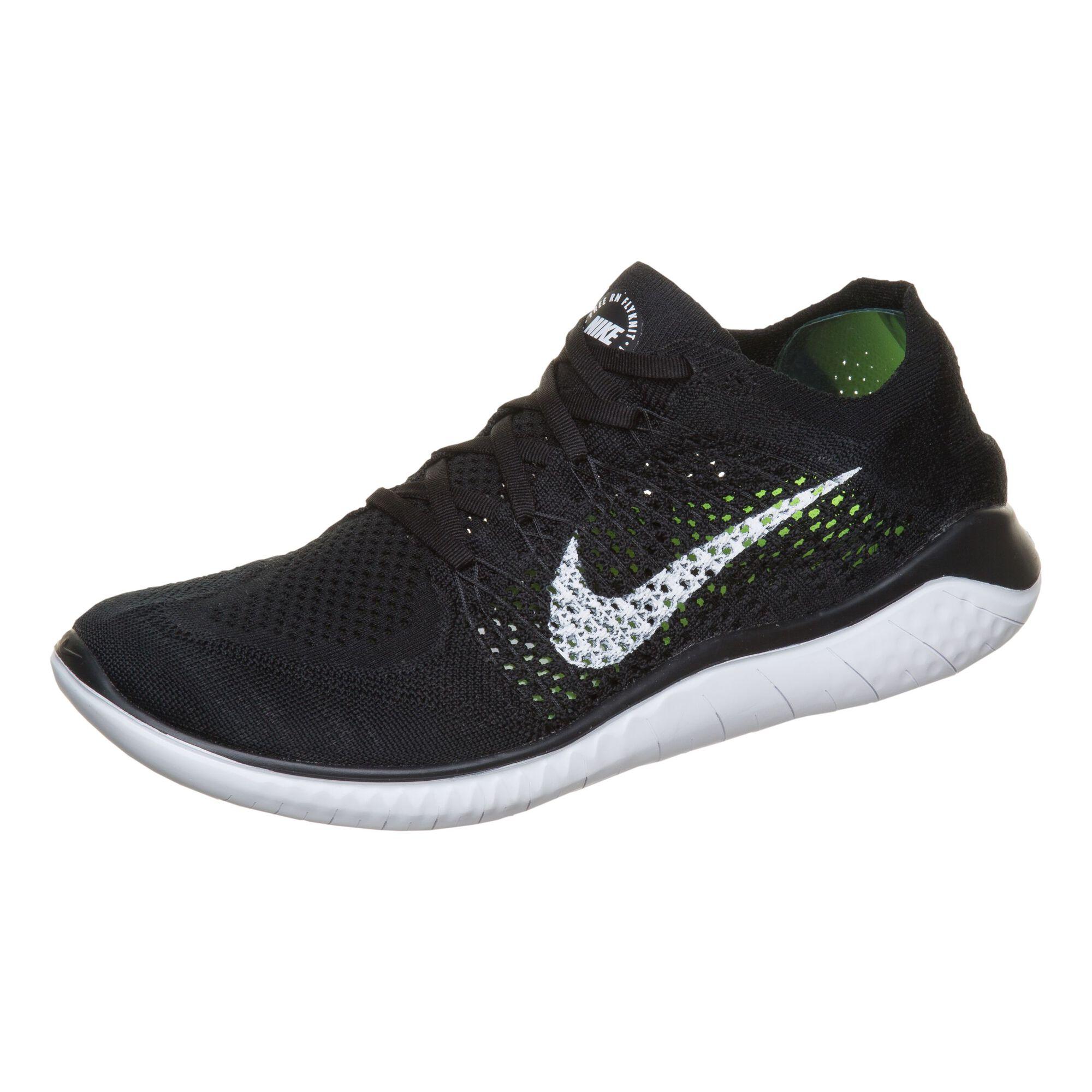 promo code 45607 524df Nike Free Run Flyknit 2018 Natural-Running Schuh Herren - Schwarz ...