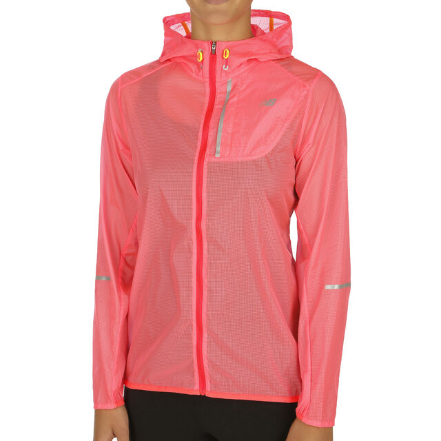good shop best sellers look out for New Balance Lite Packable Laufjacke Damen - Rosa