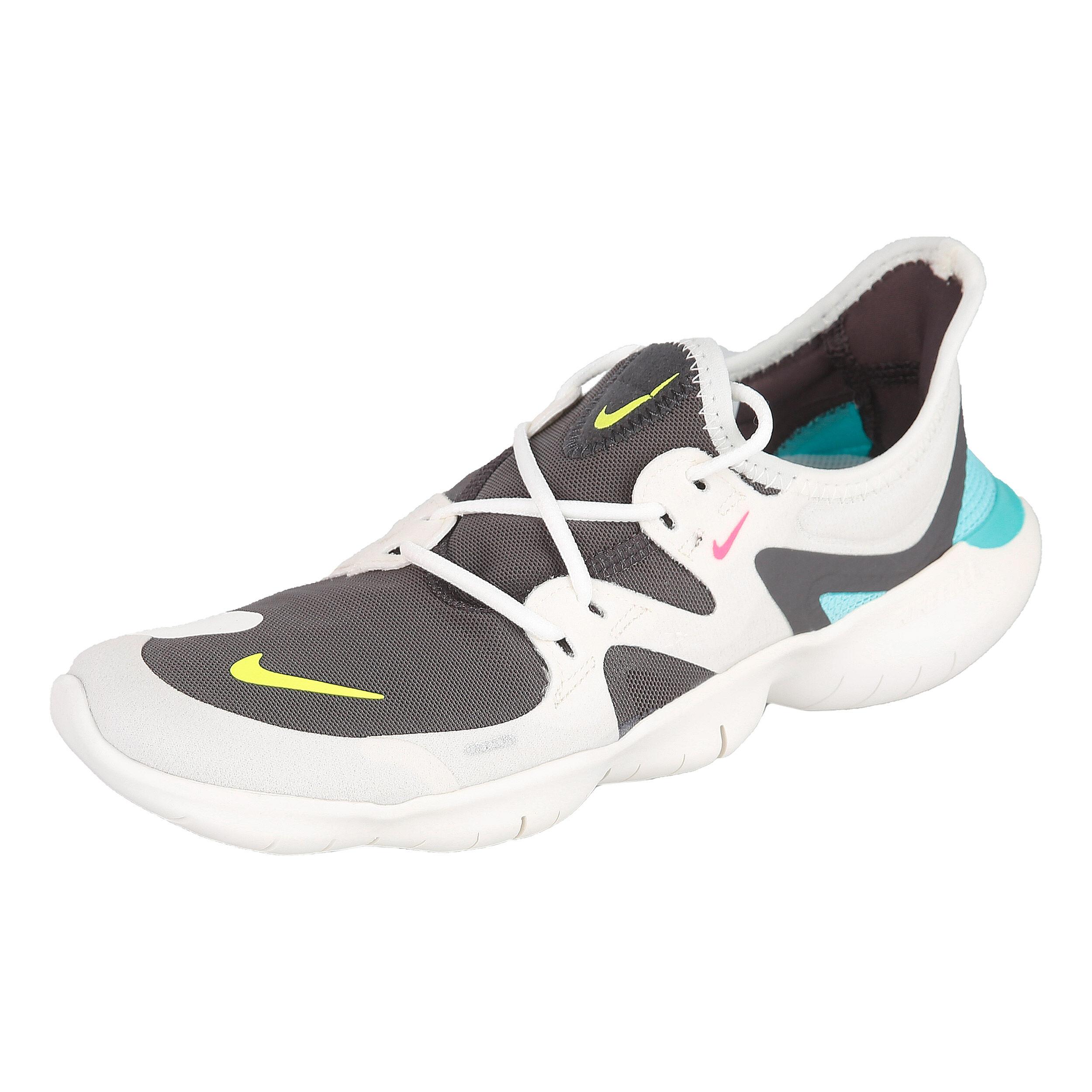 Nike Free 5.0 Neutralschuh Damen Creme, Schwarz