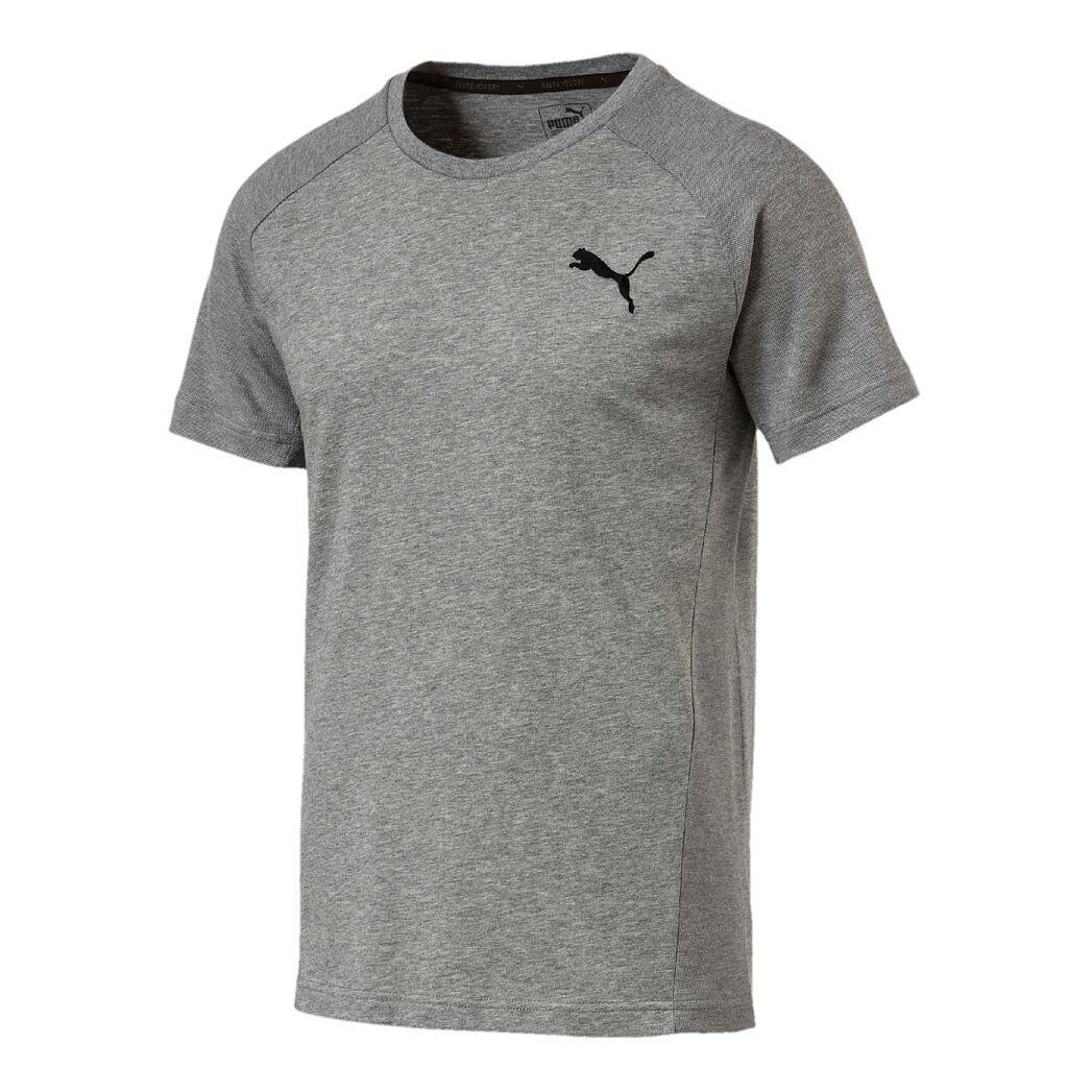 Puma Evostripe Move T Shirt Herren Grau, Schwarz online