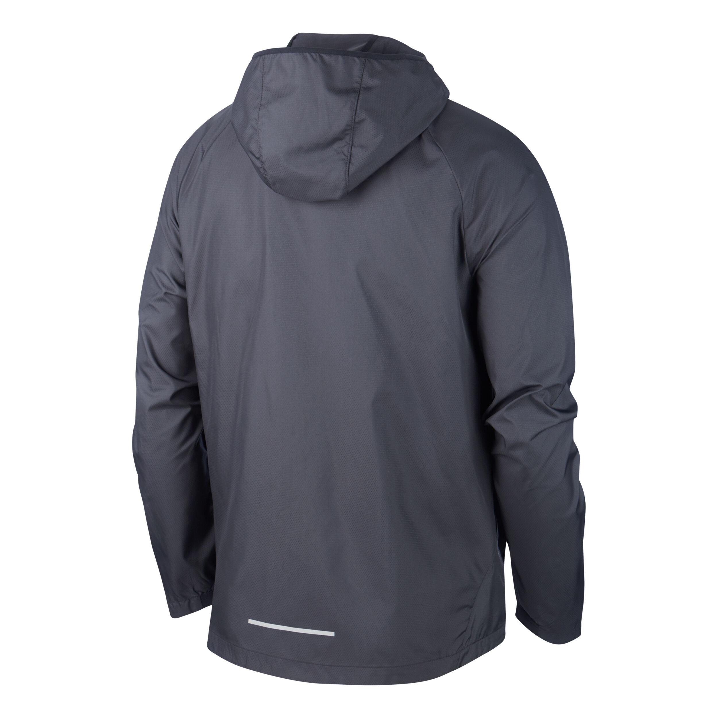 Nike Air Pro Essential Trainingsjacke Herren Schwarz, Silber