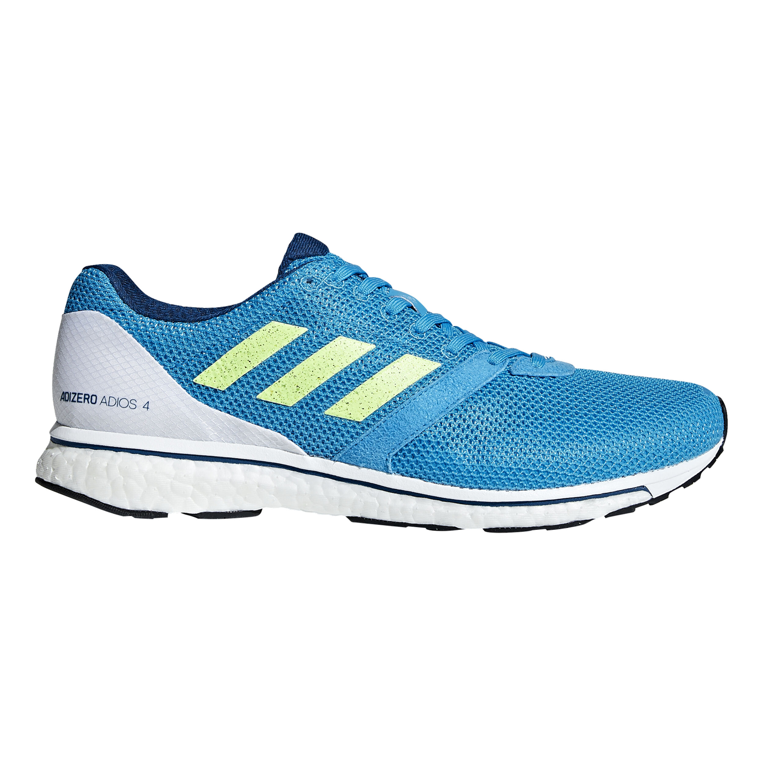 adidas Adizero Adios 4 Wettkampfschuh Herren Blau