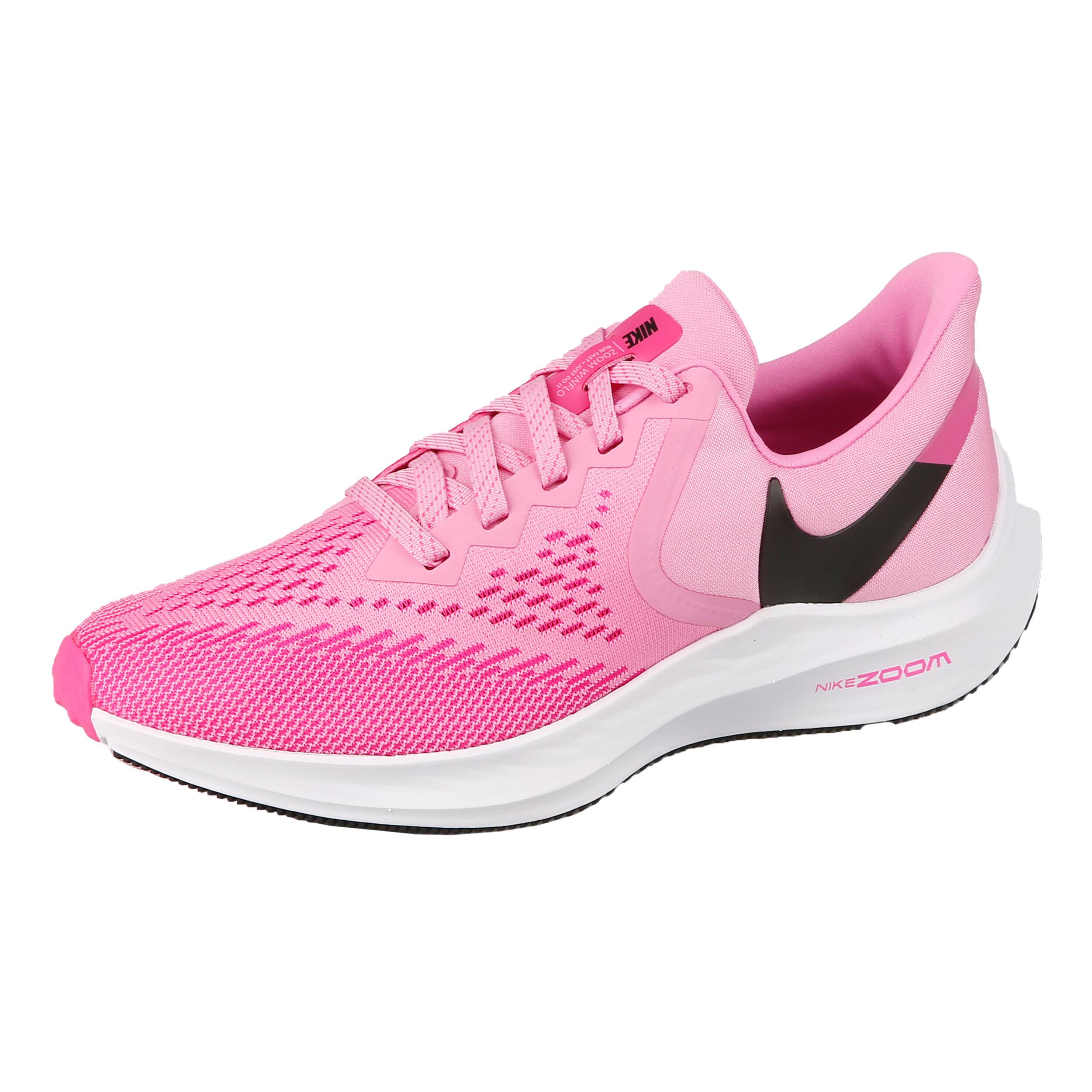 Nike Winflo 6 Neutralschuh Damen Pink, Schwarz online