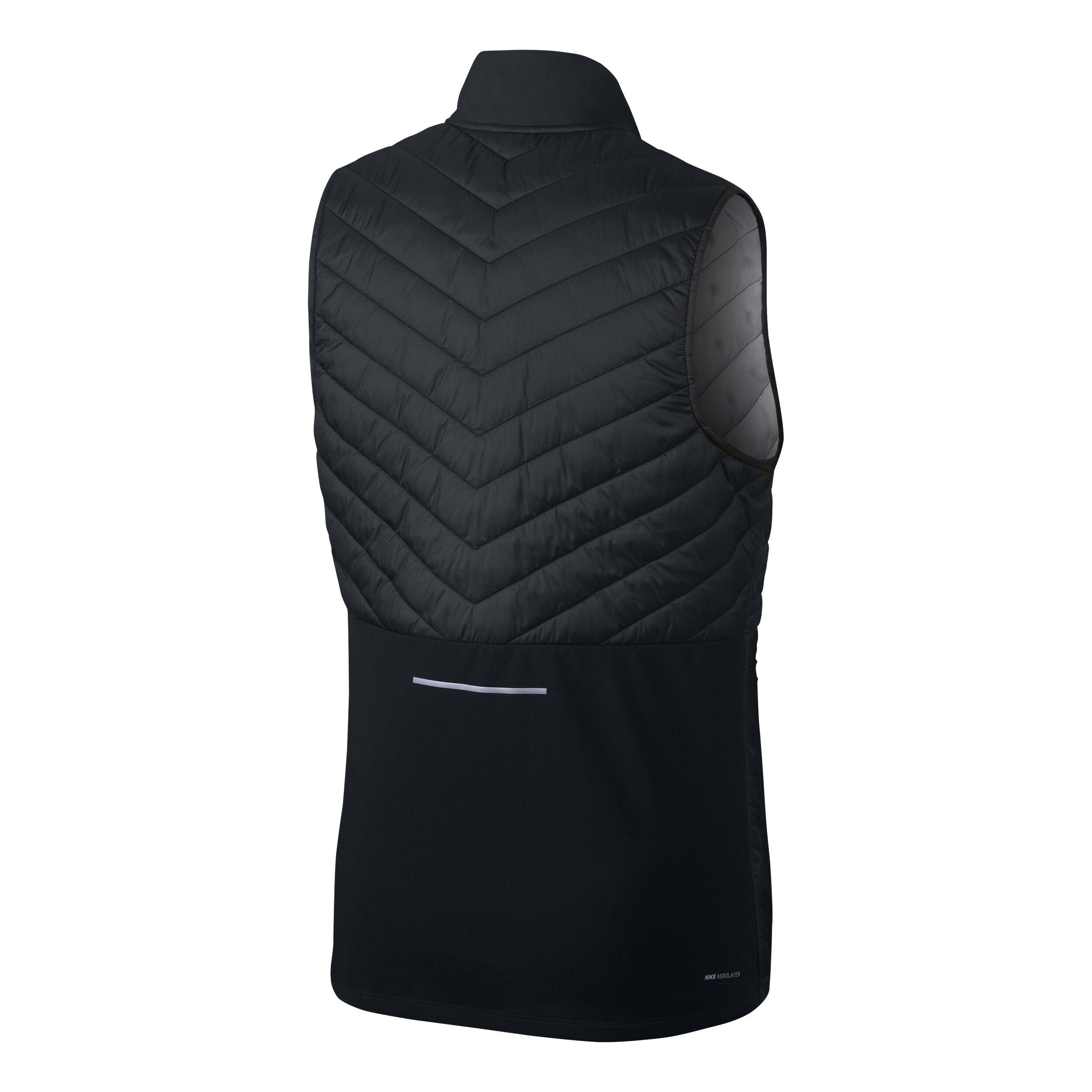 Nike AeroLayer Running Herren Dunkelgrün Weste