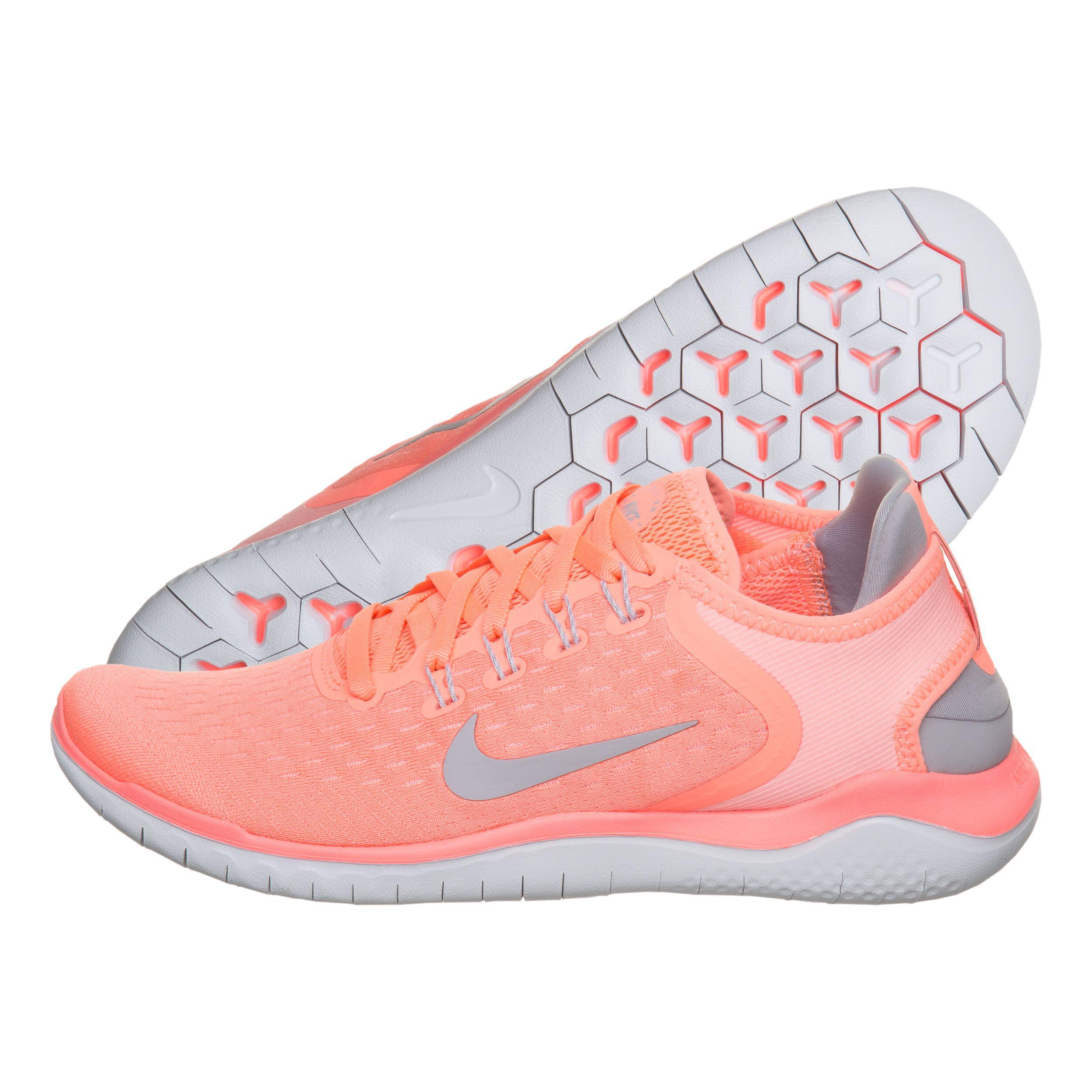 Nike Free Run 2018 Natural-Running Schuh Damen - Koralle ...