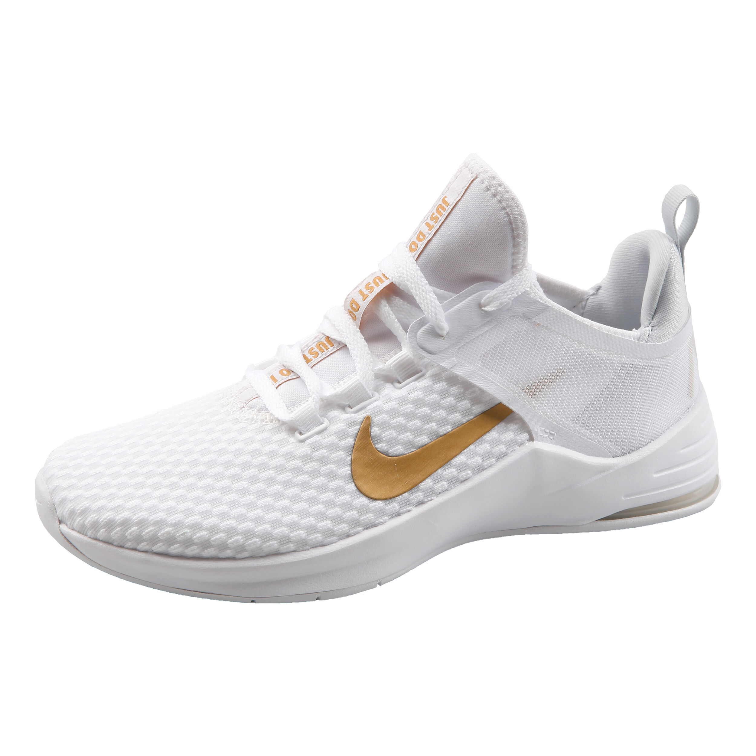 Nike Air Max Bella 2 Neutralschuh Damen Weiß, Gold online