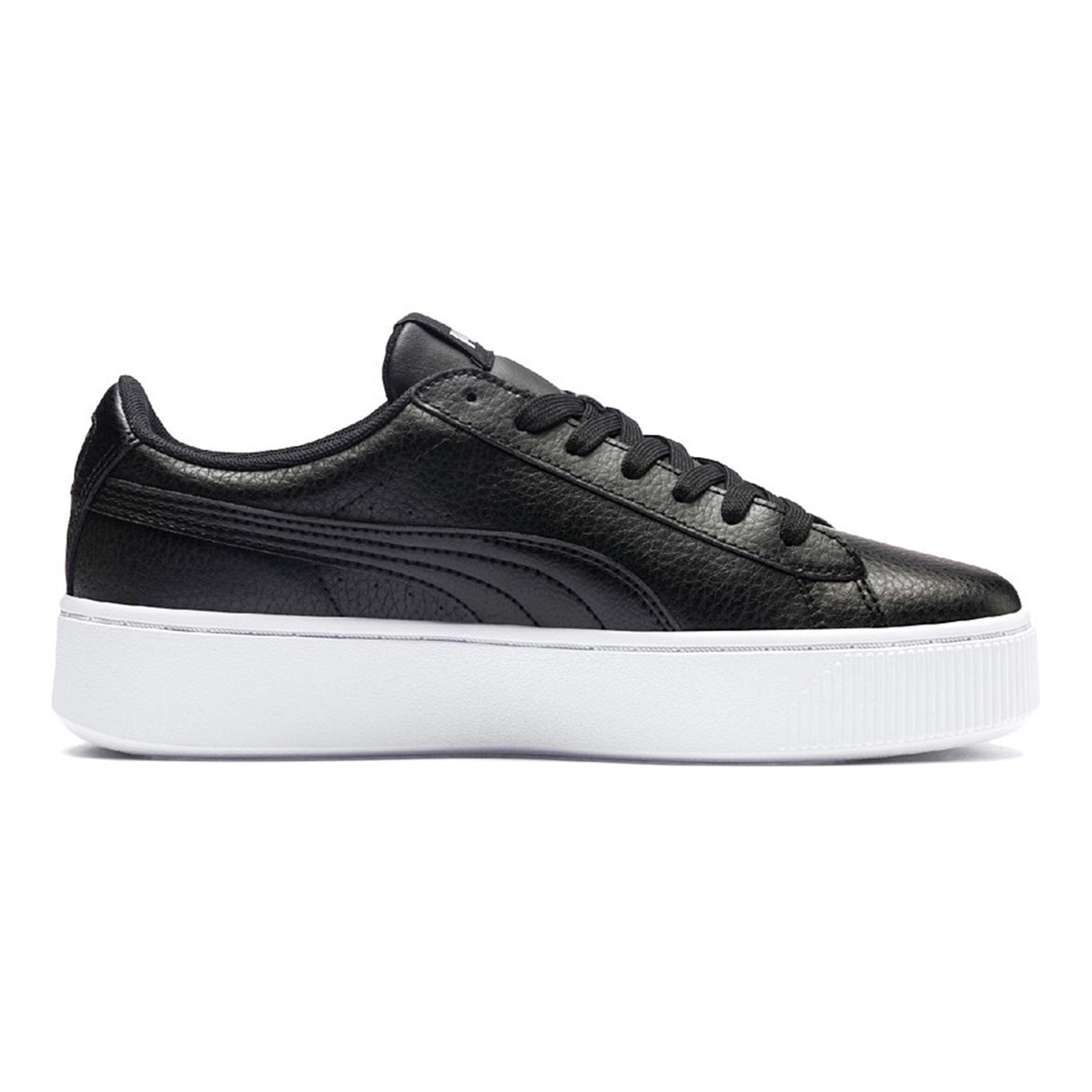 PUMA Vikky Stacked SD Sneaker Damen schwarz weiß im Online