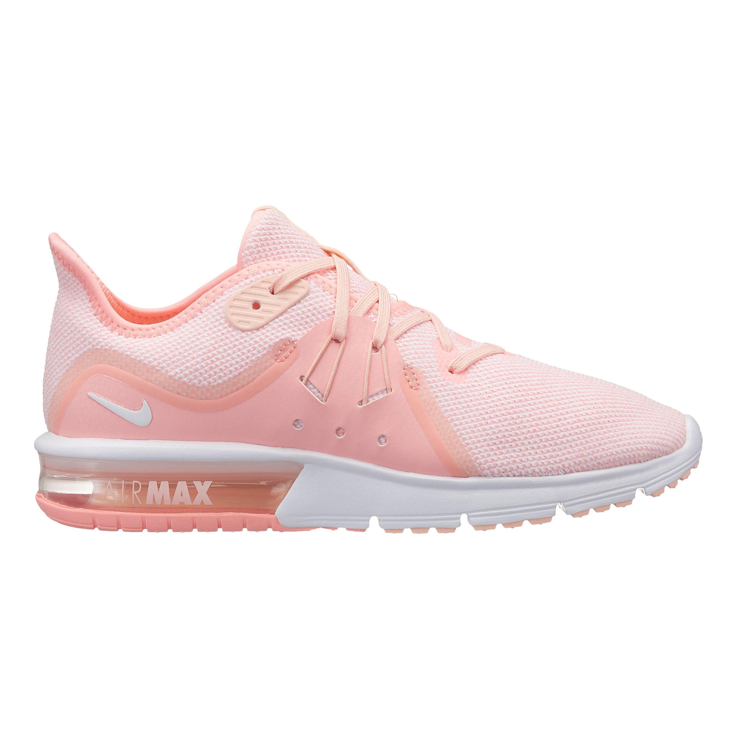 Nike Air Max Sequent 3 Neutralschuh Damen Rosa, Apricot