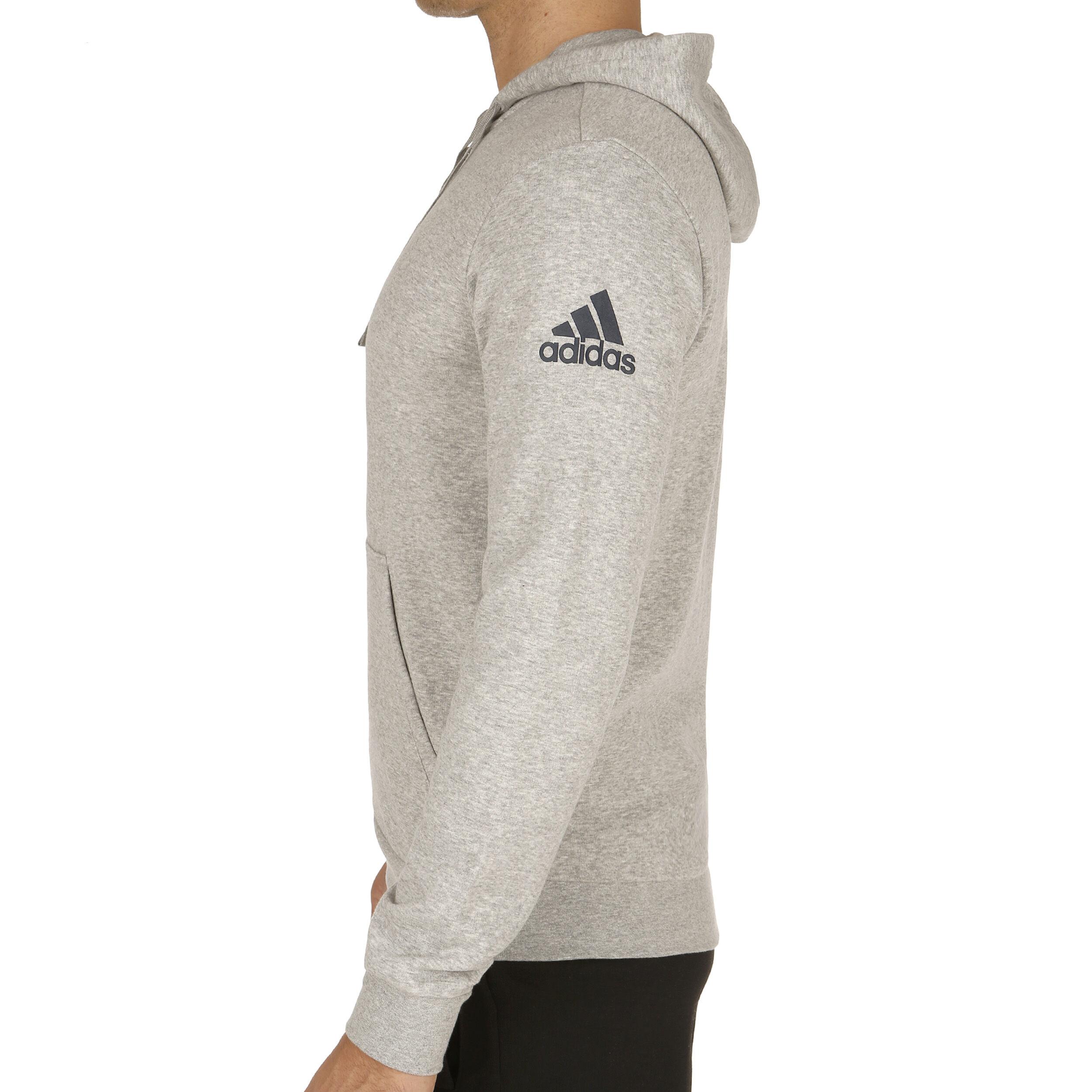 adidas Essentials Base Hood Fleece Sweatjacke Herren