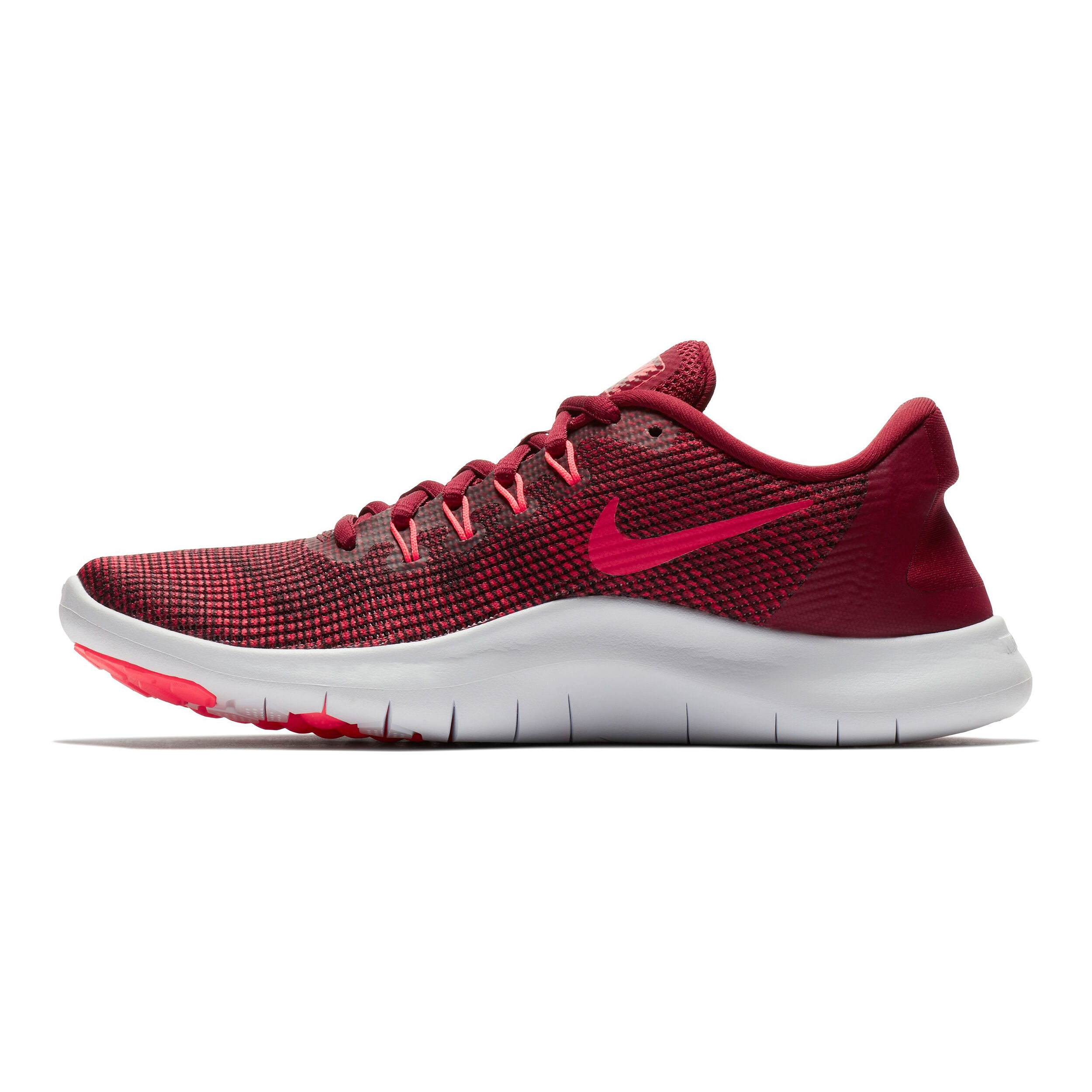 Nike DunkelrotRot 2018 Schuh Damen Run Running Flex Natural