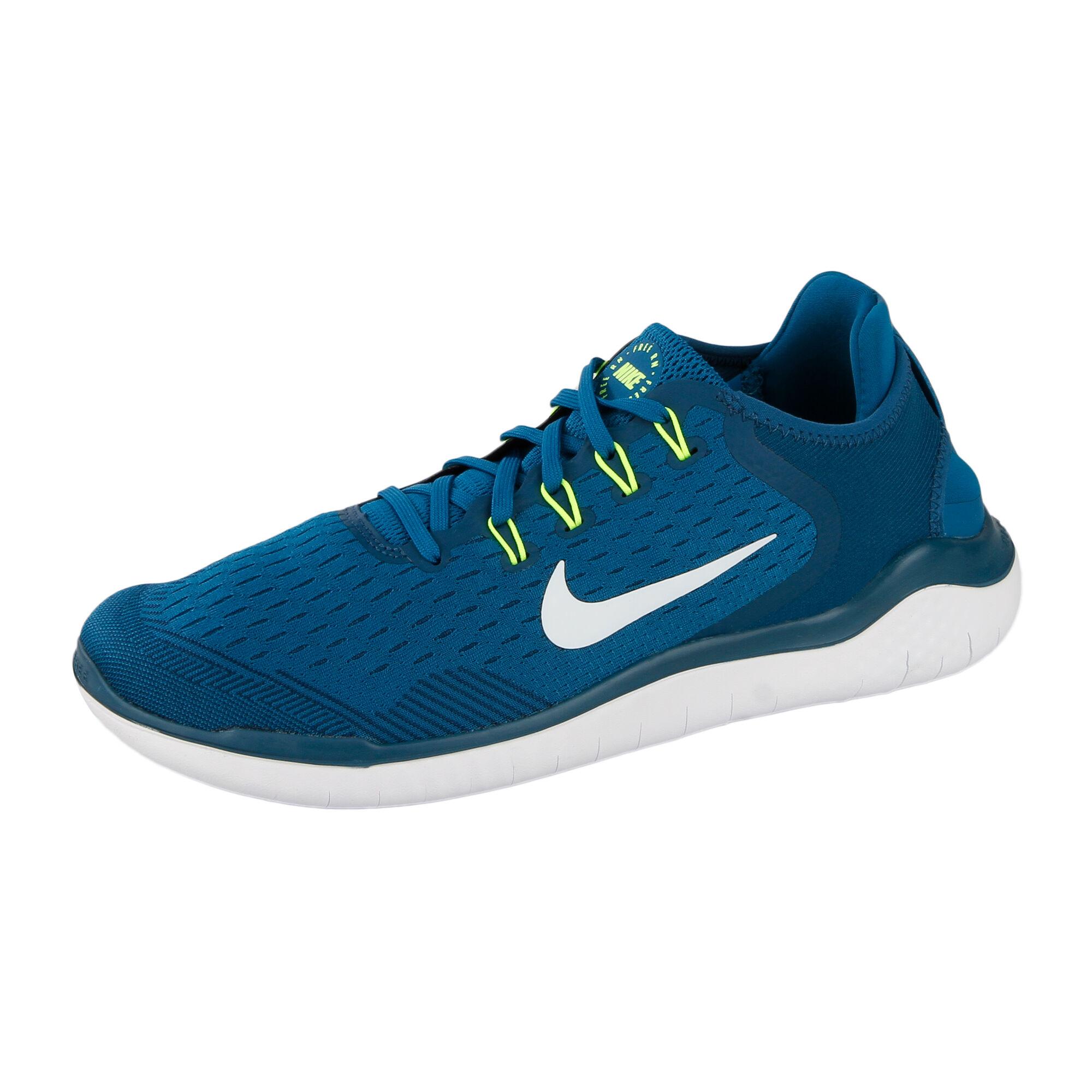 Schuh Blau