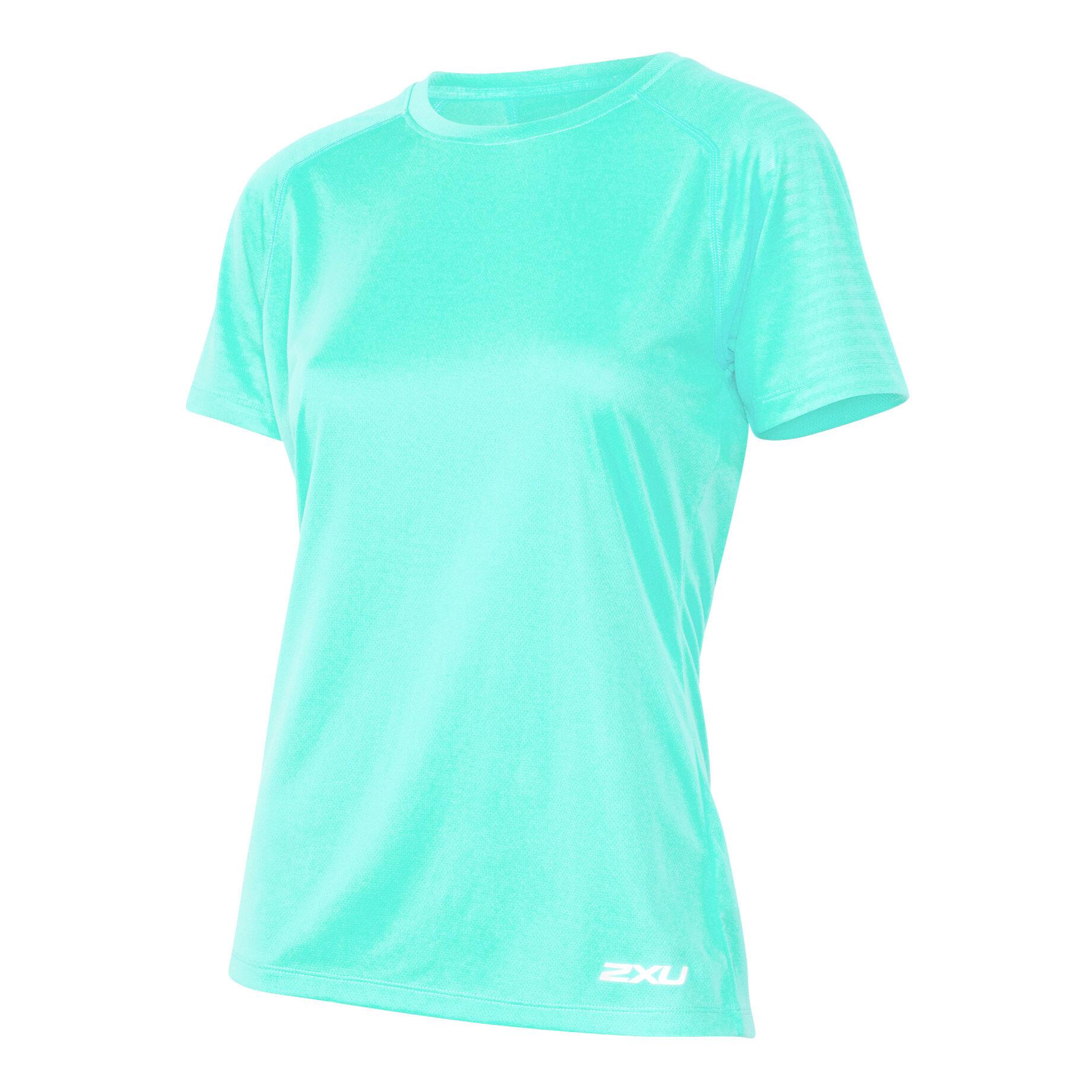 X Vent T Shirt Damen Türkis, Weiß