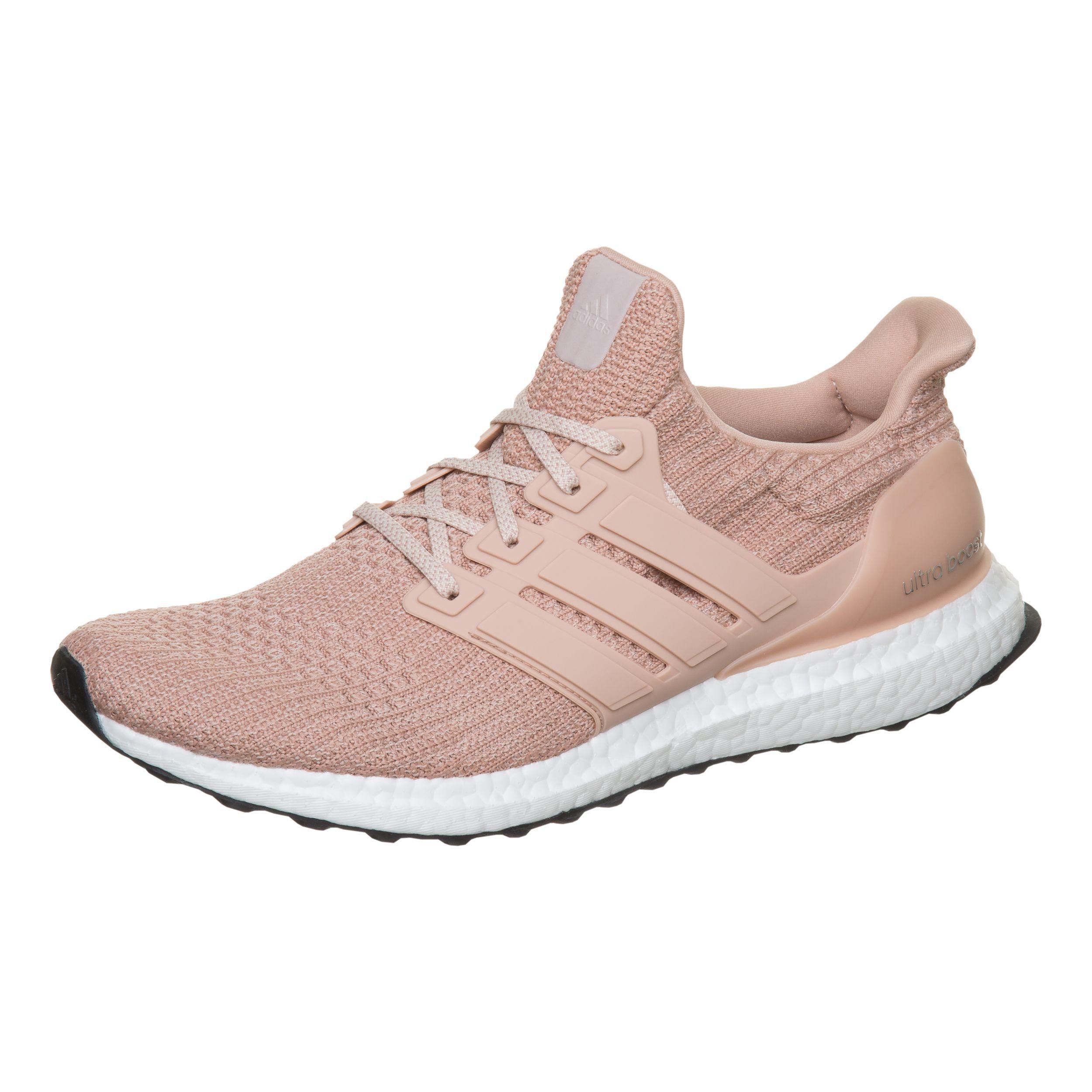 adidas Ultra Boost Neutralschuh Damen - Rosa, Weiß