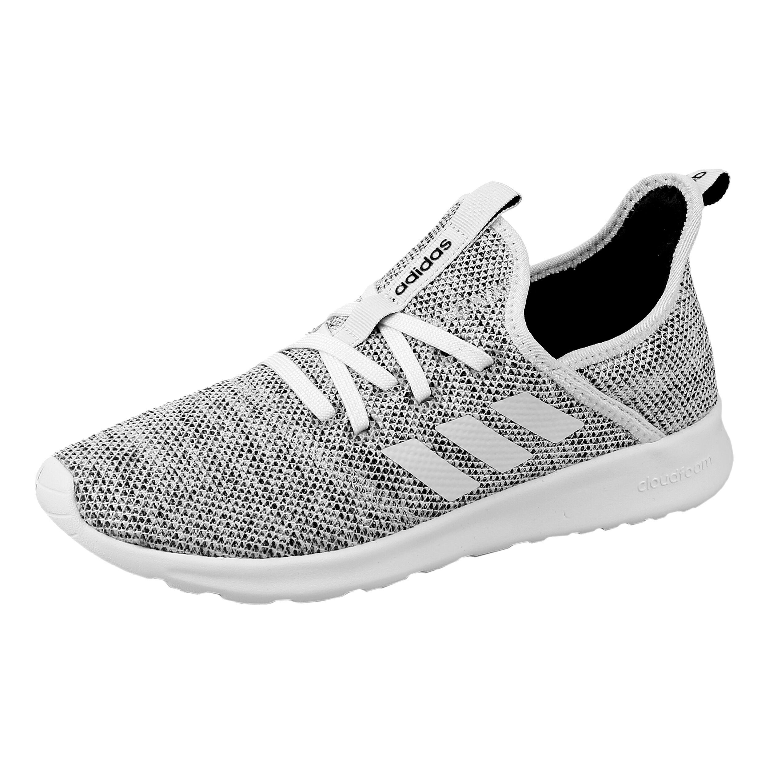 adidas NEO Cloudfoam Pure Sneaker Damen Hellgrau, Weiß