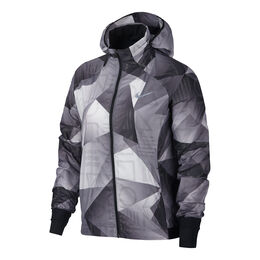 Shield Hooded Printed Running Jacket Women