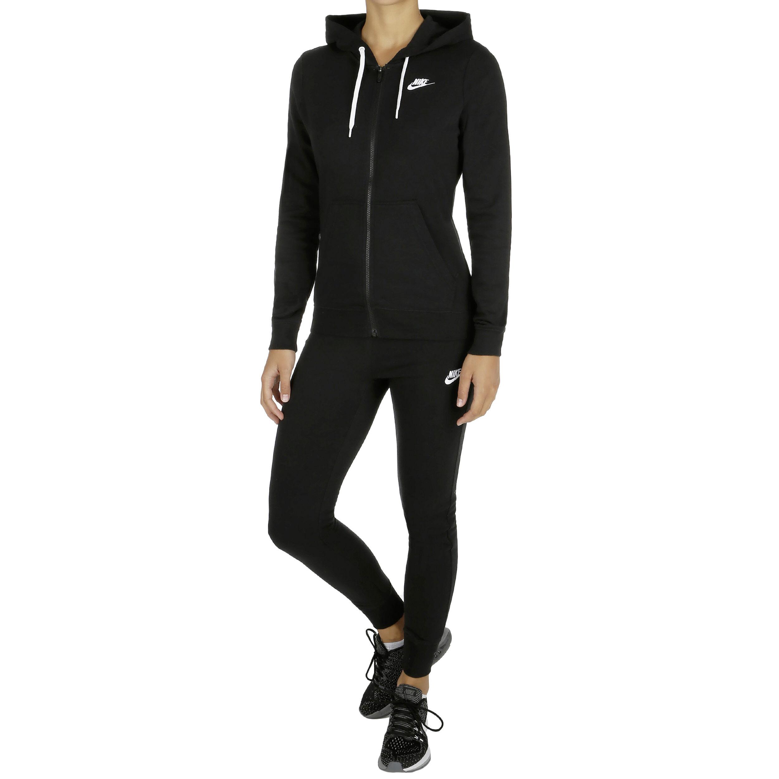 Nike Sportswear Trainingsanzug Damen - Schwarz, Weiß online kaufen ...