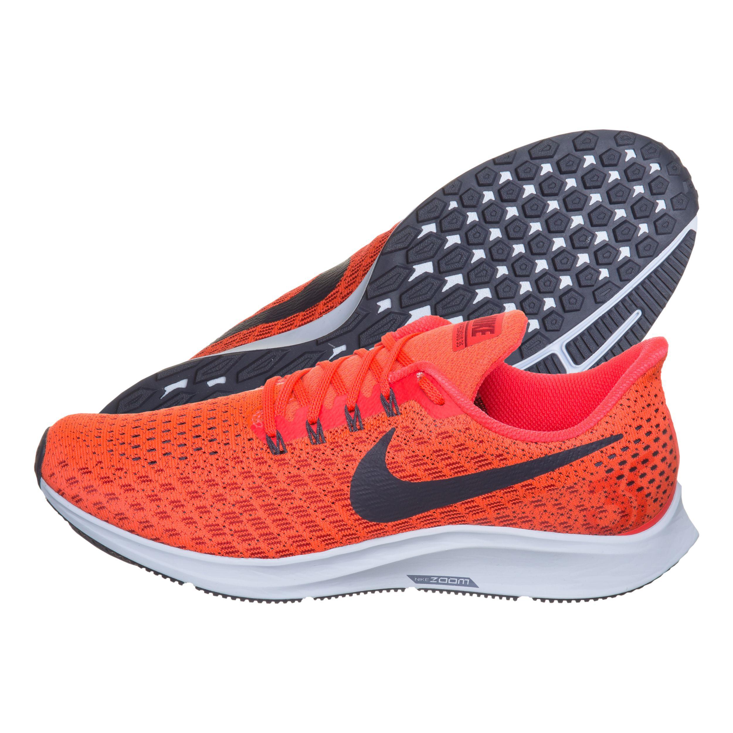 Nike Air Zoom Pegasus 35 Neutralschuh Herren - Orange, Hellblau ...