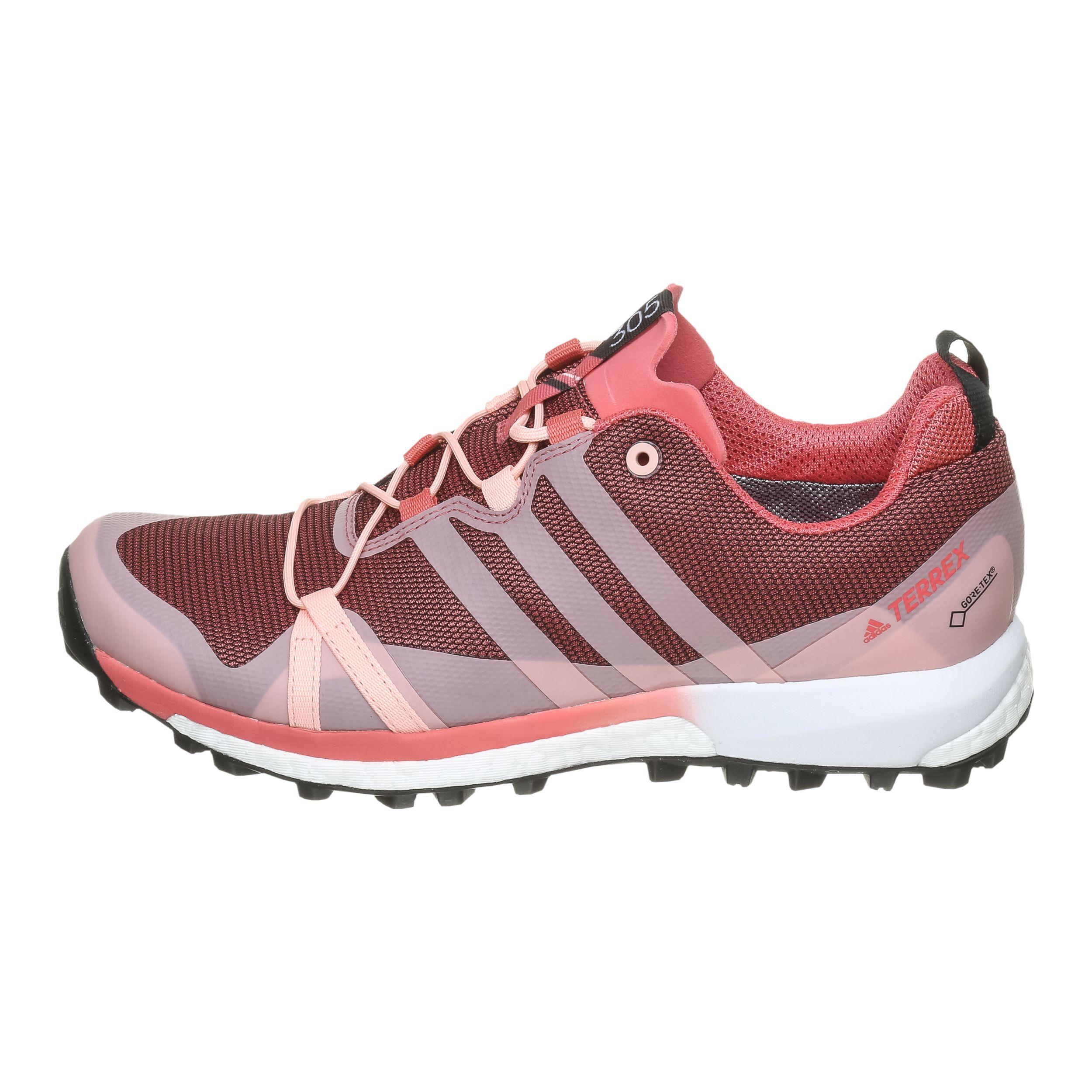 adidas Terrex Agravic GTX Trailschuh Damen Pink, Koralle