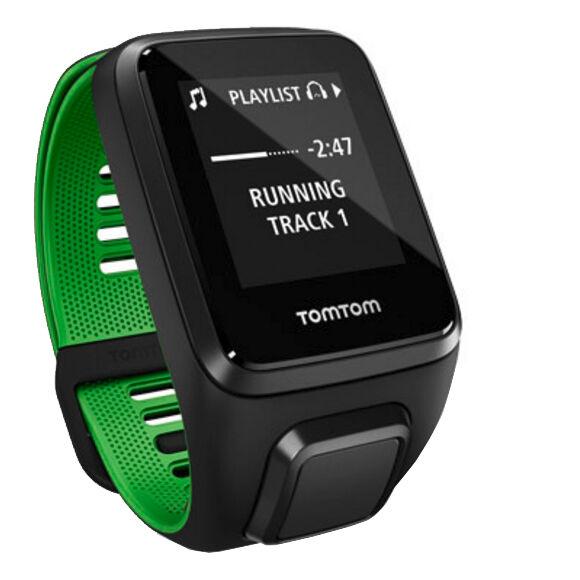 Sportuhr TomTom Runner 3 Cardio Sportuhr Large Schwarz günstig kaufen GPS & Sportuhren