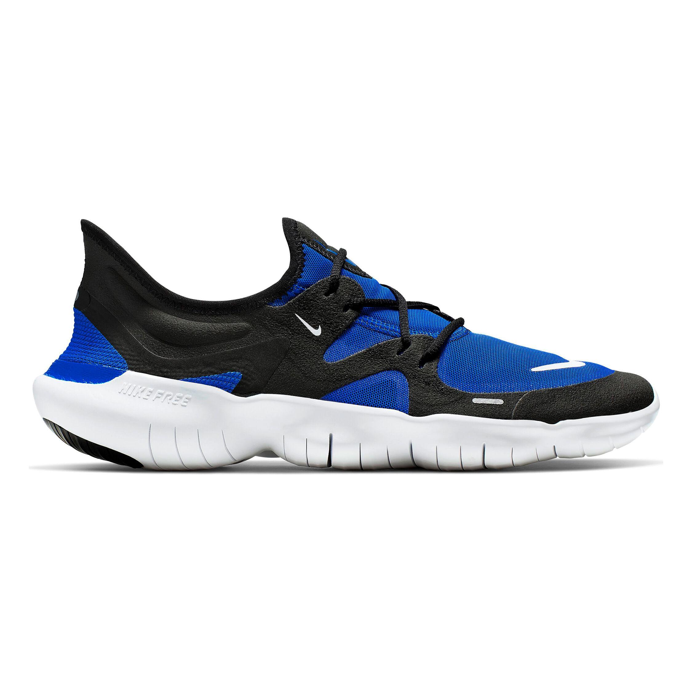 Nike Free Run 5.0 Neutralschuh Herren Blau, Schwarz online
