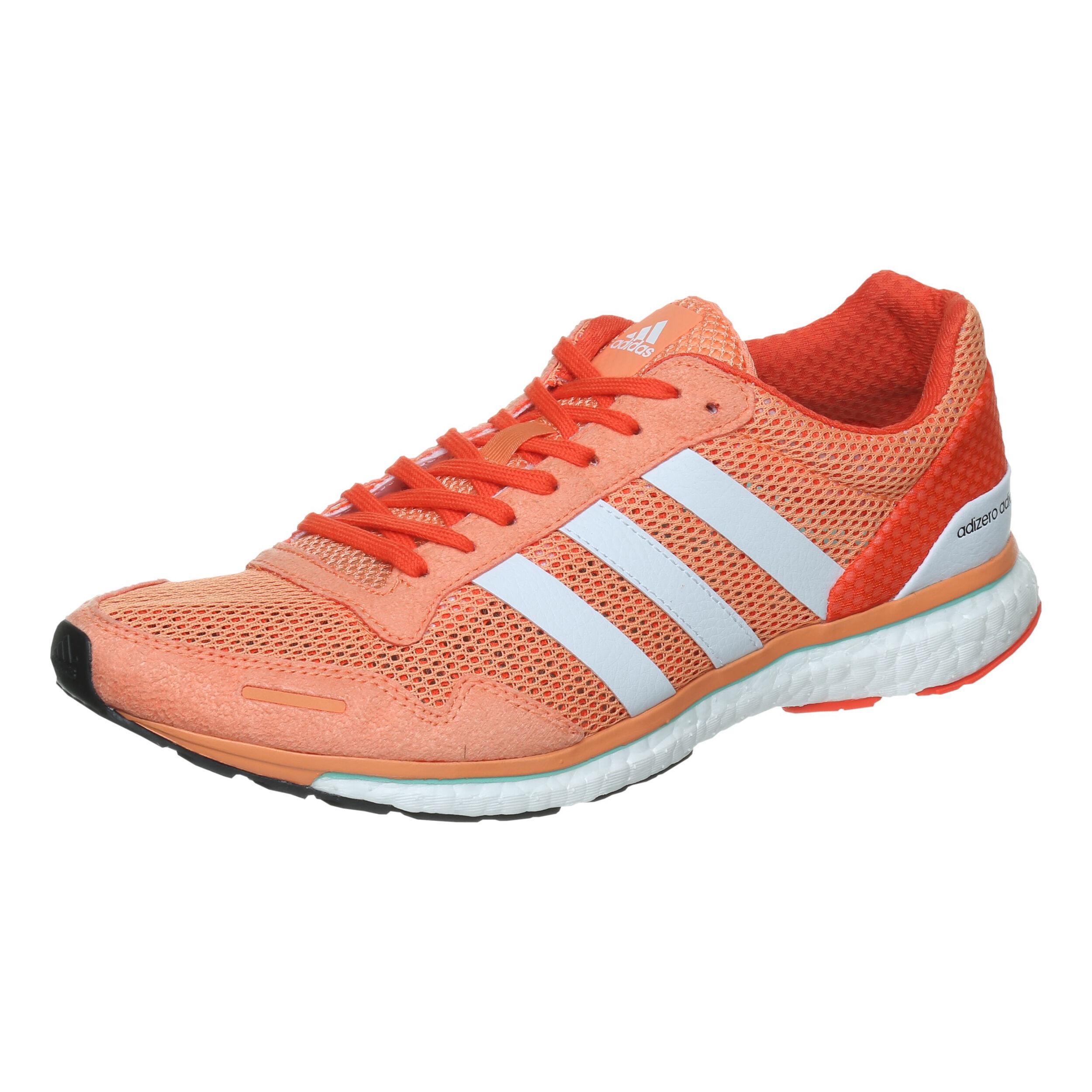 adidas Adizero Adios Wettkampfschuh Damen - Orange, Weiß ...