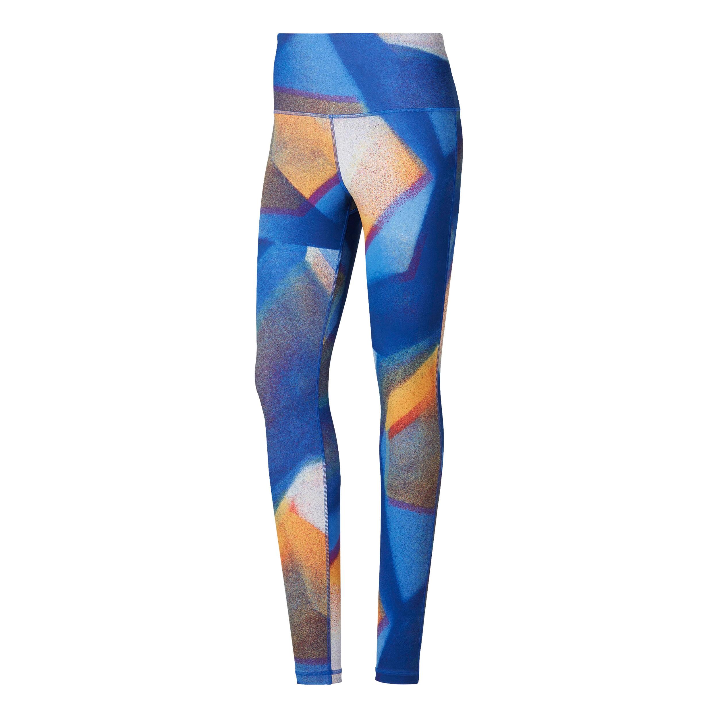 Reebok Yoga Lux Bold High Rise Tight Damen Blau, Orange