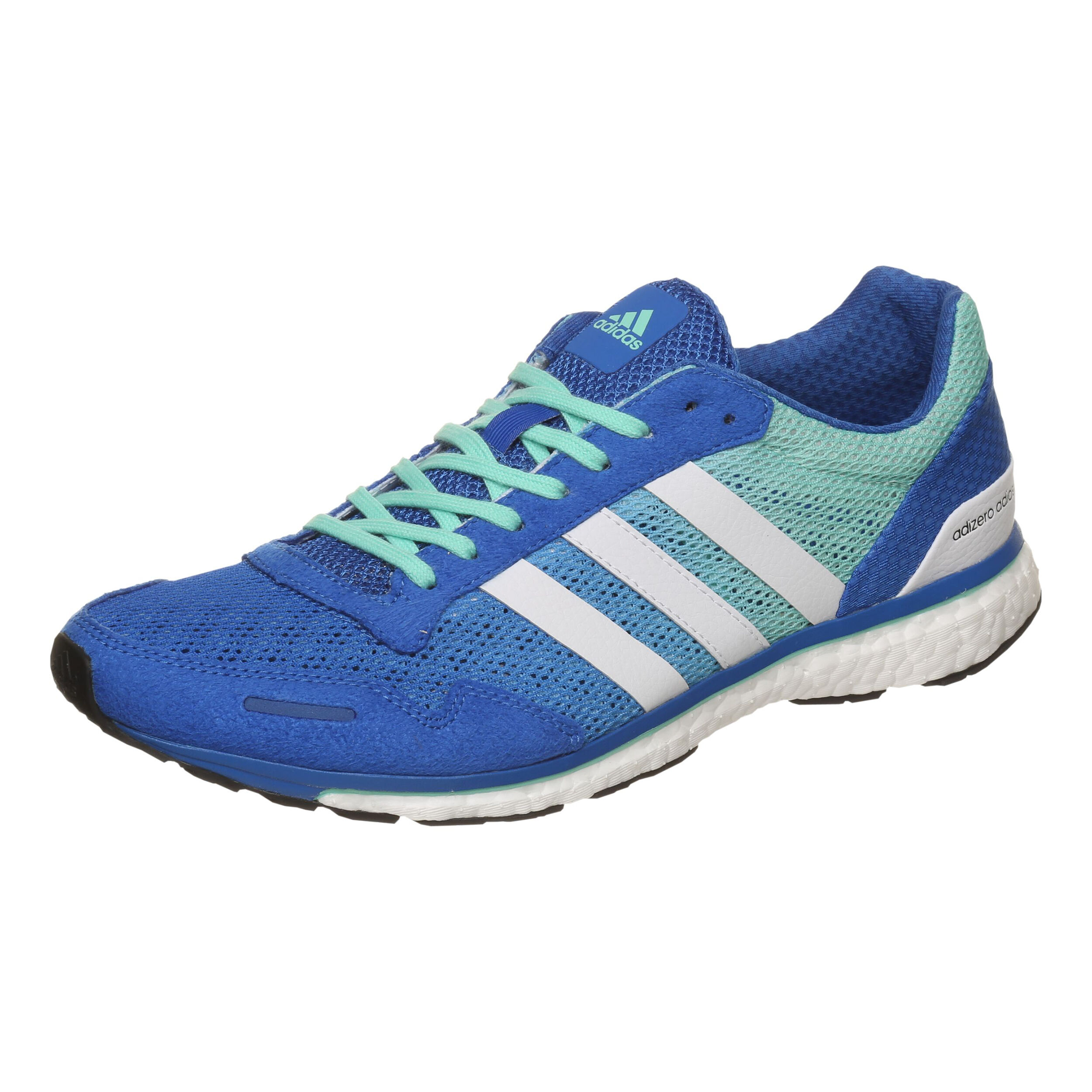 adidas Adizero Adios 3 Wettkampfschuh Herren Blau, Weiß