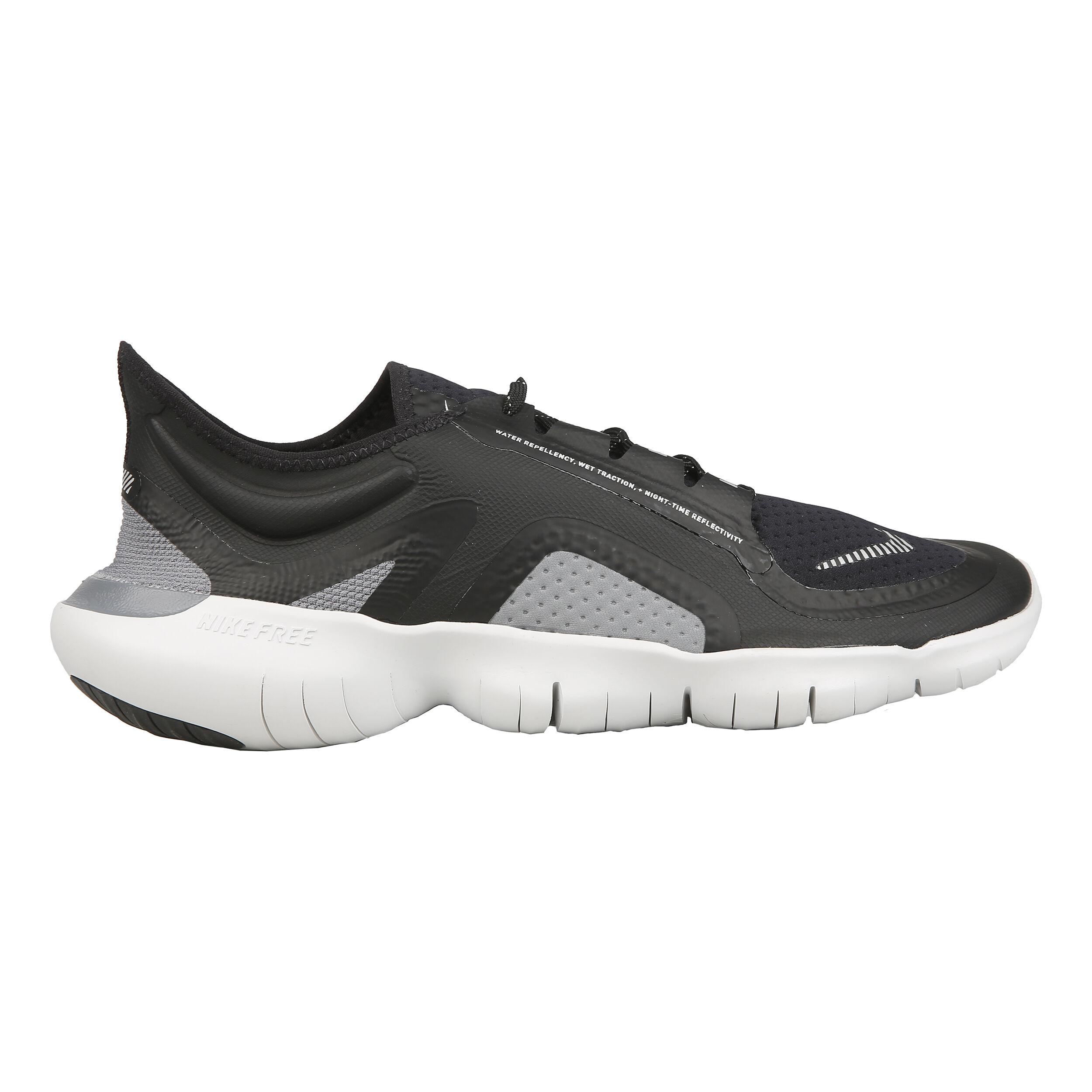 Nike Free Run 5.0 Shield Neutralschuh Herren Schwarz