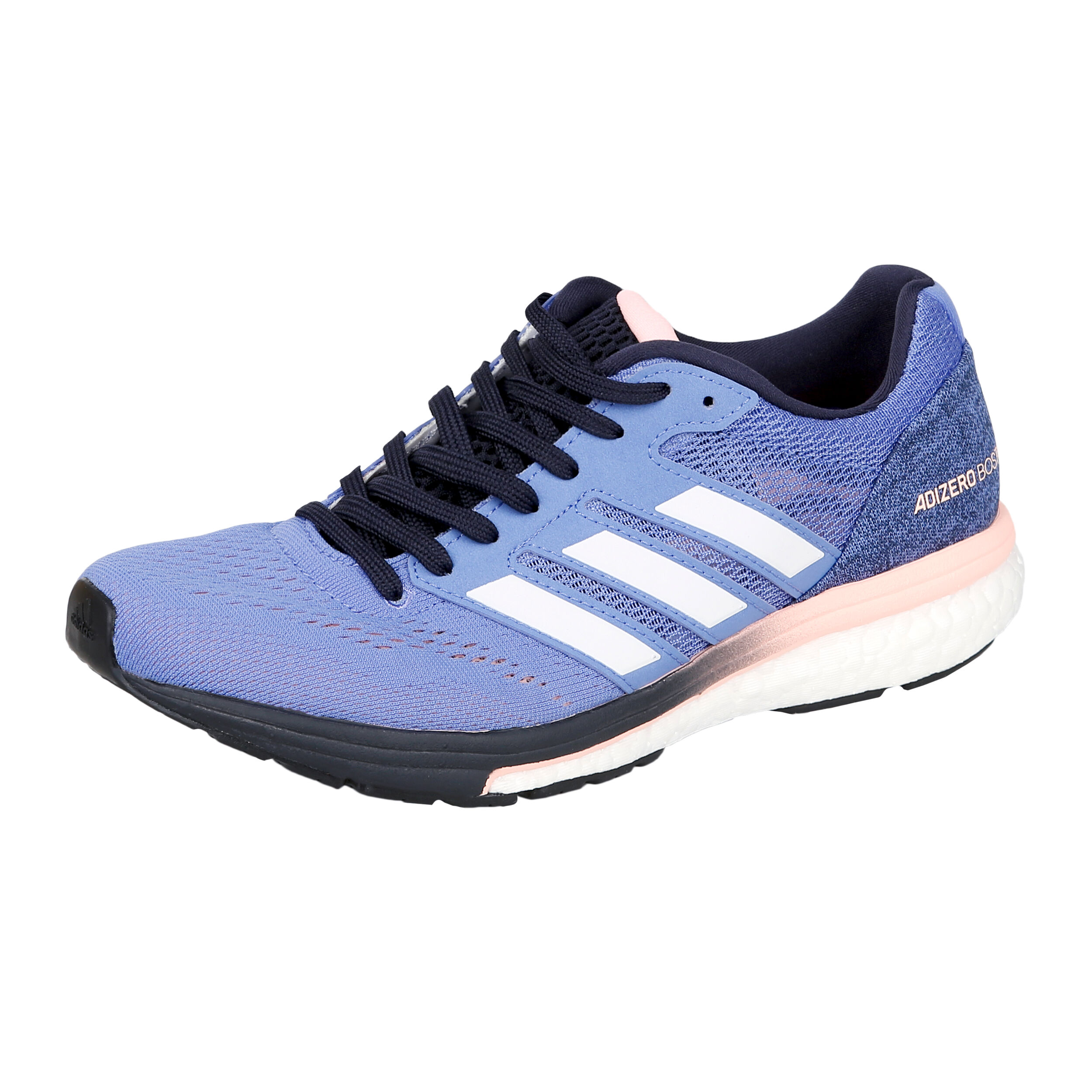 adidas Adizero Boston 7 Wettkampfschuh Damen - Blau, Apricot