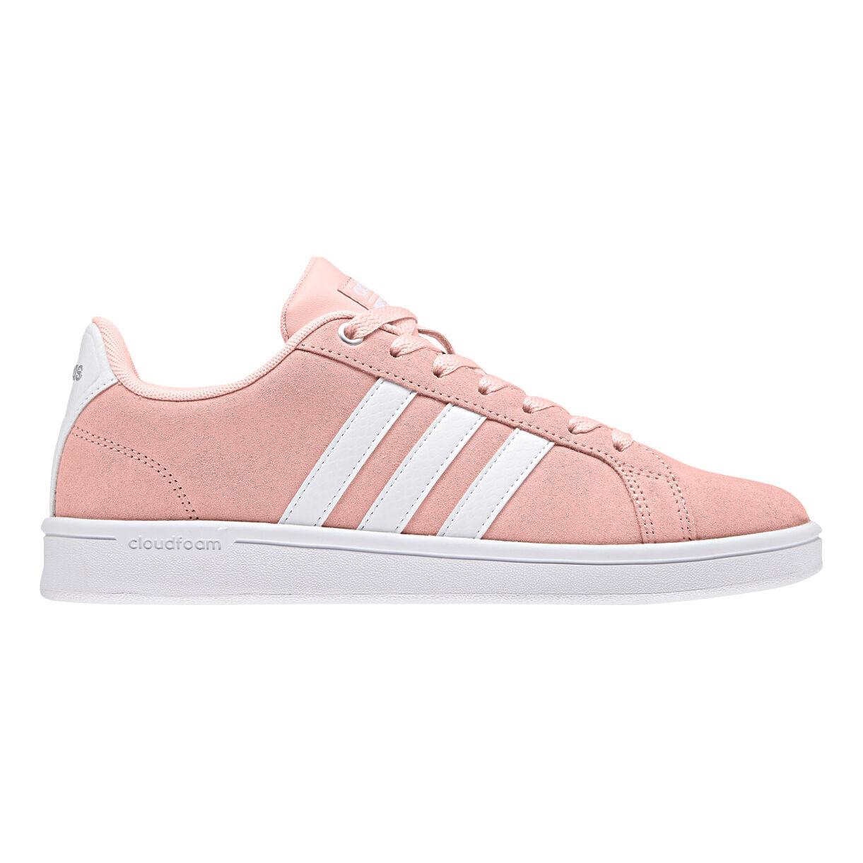 adidas NEO Cloudfoam Advantage Sneaker Damen - Rosa, Weiß ...