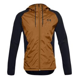 Stretch-Woven Hooded Jacket Men