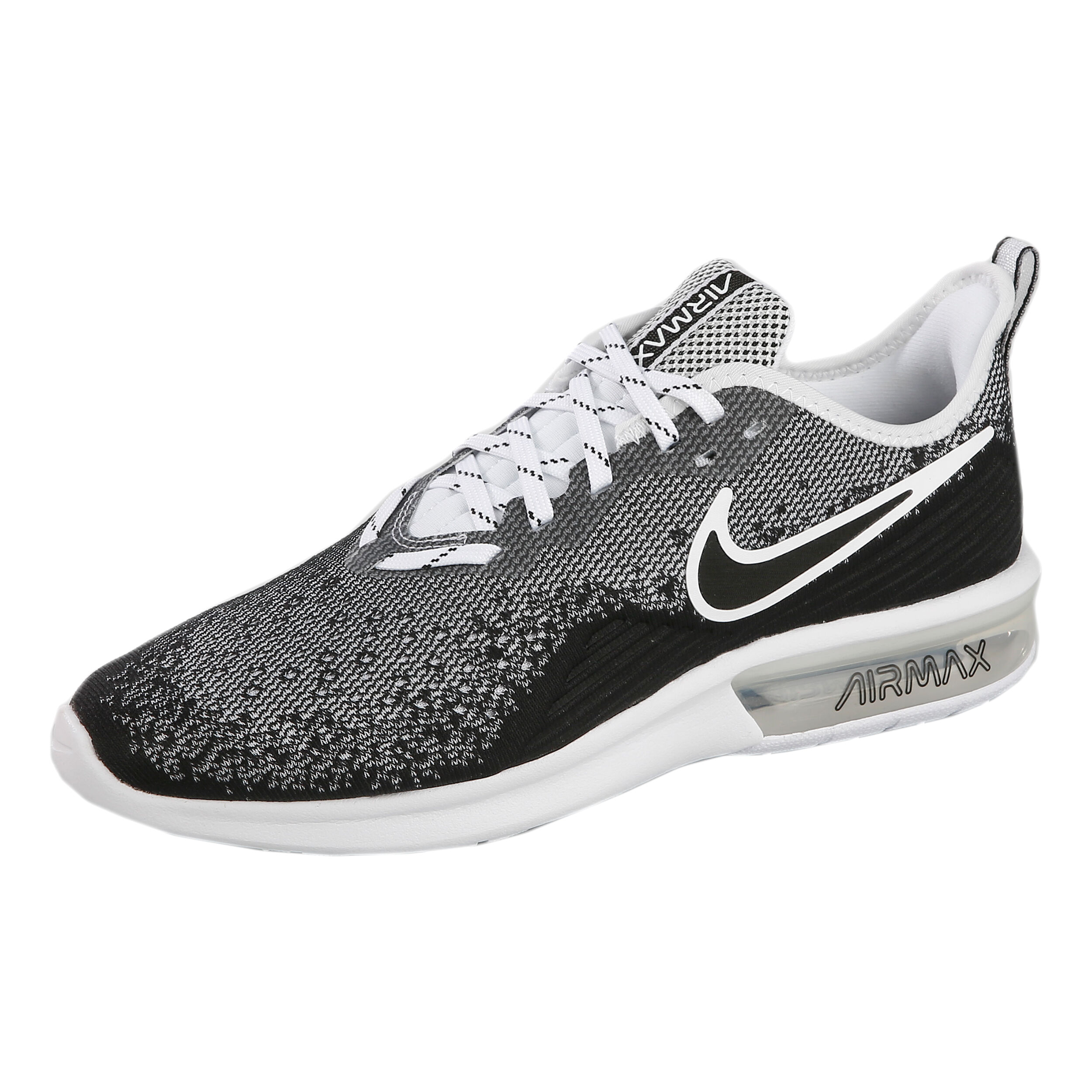 Nike Air Max Sequent 4 Neutralschuh Herren Schwarz, Grau