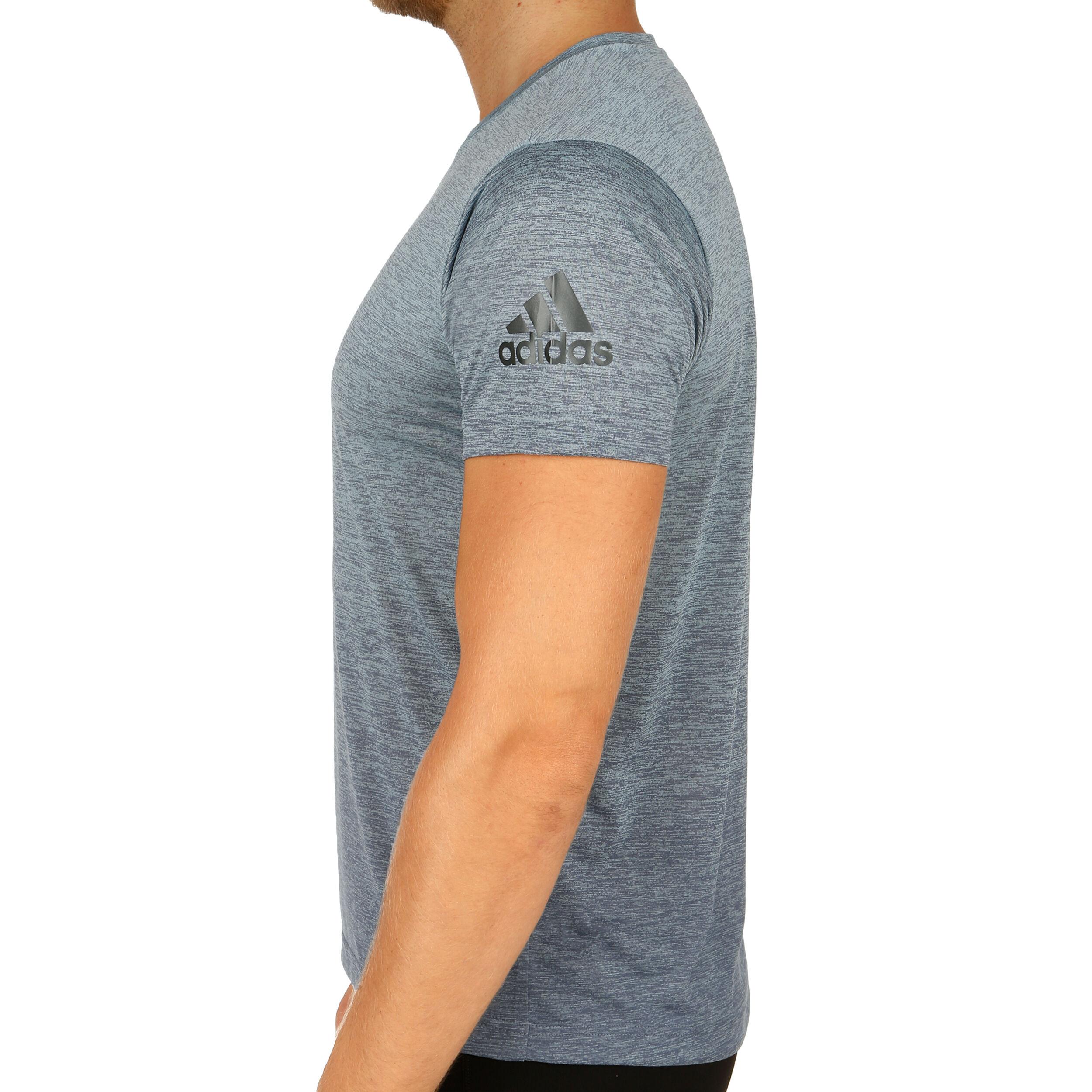 adidas FreeLift Gradient T Shirt Herren Grau, Schwarz