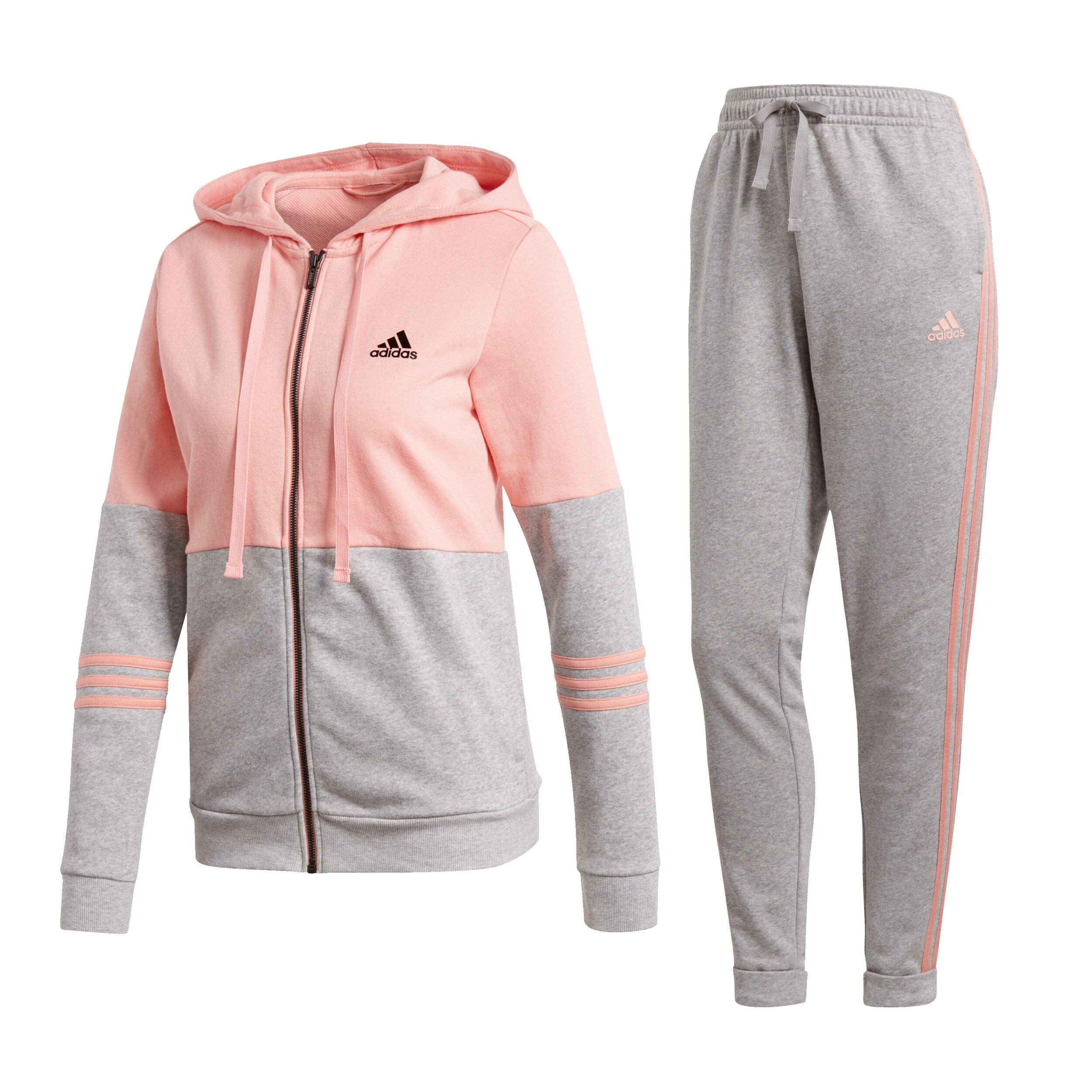 adidas Woven Cotton Energize Trainingsanzug Damen Schwarz