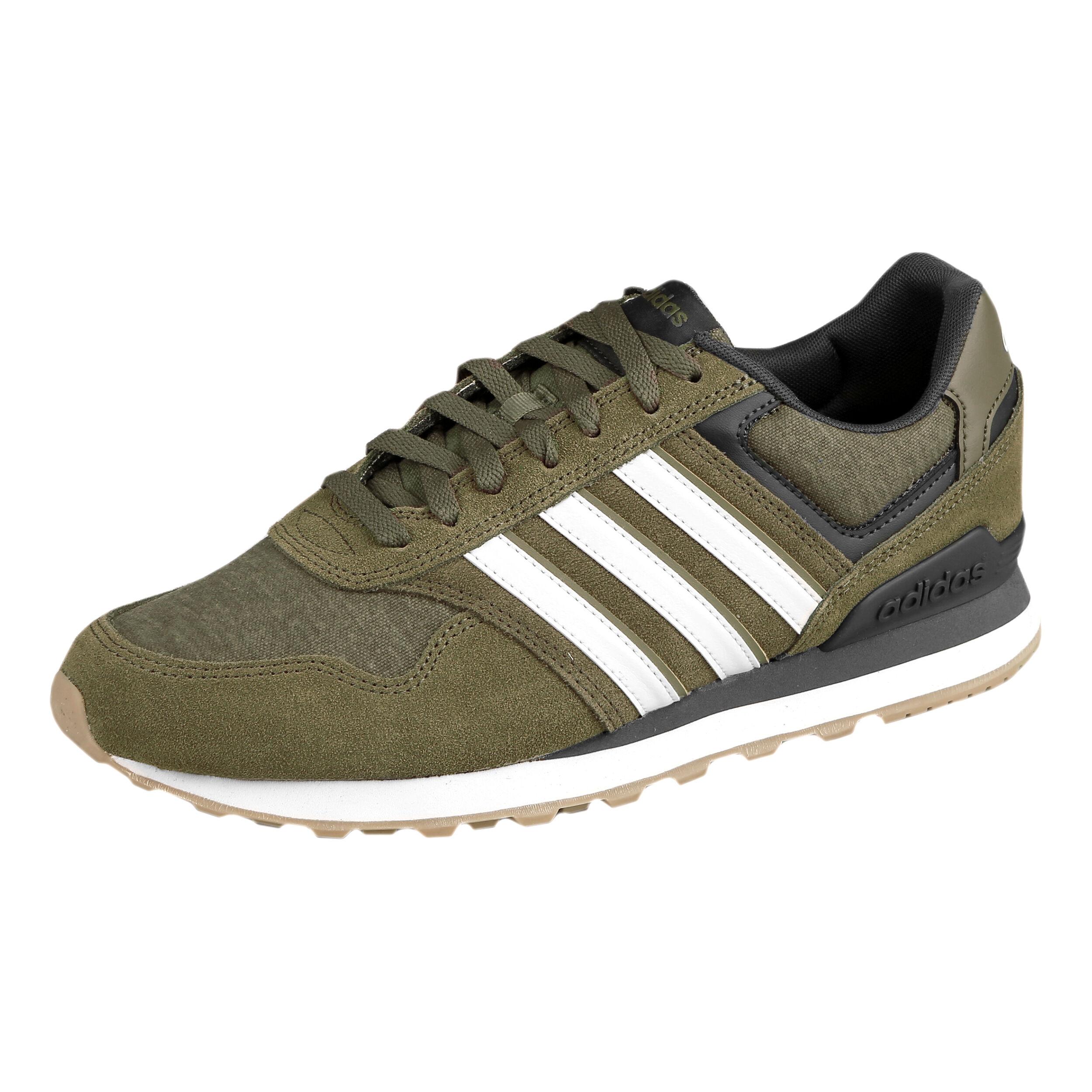 adidas NEO 10K Sneaker Herren Khaki, Schwarz