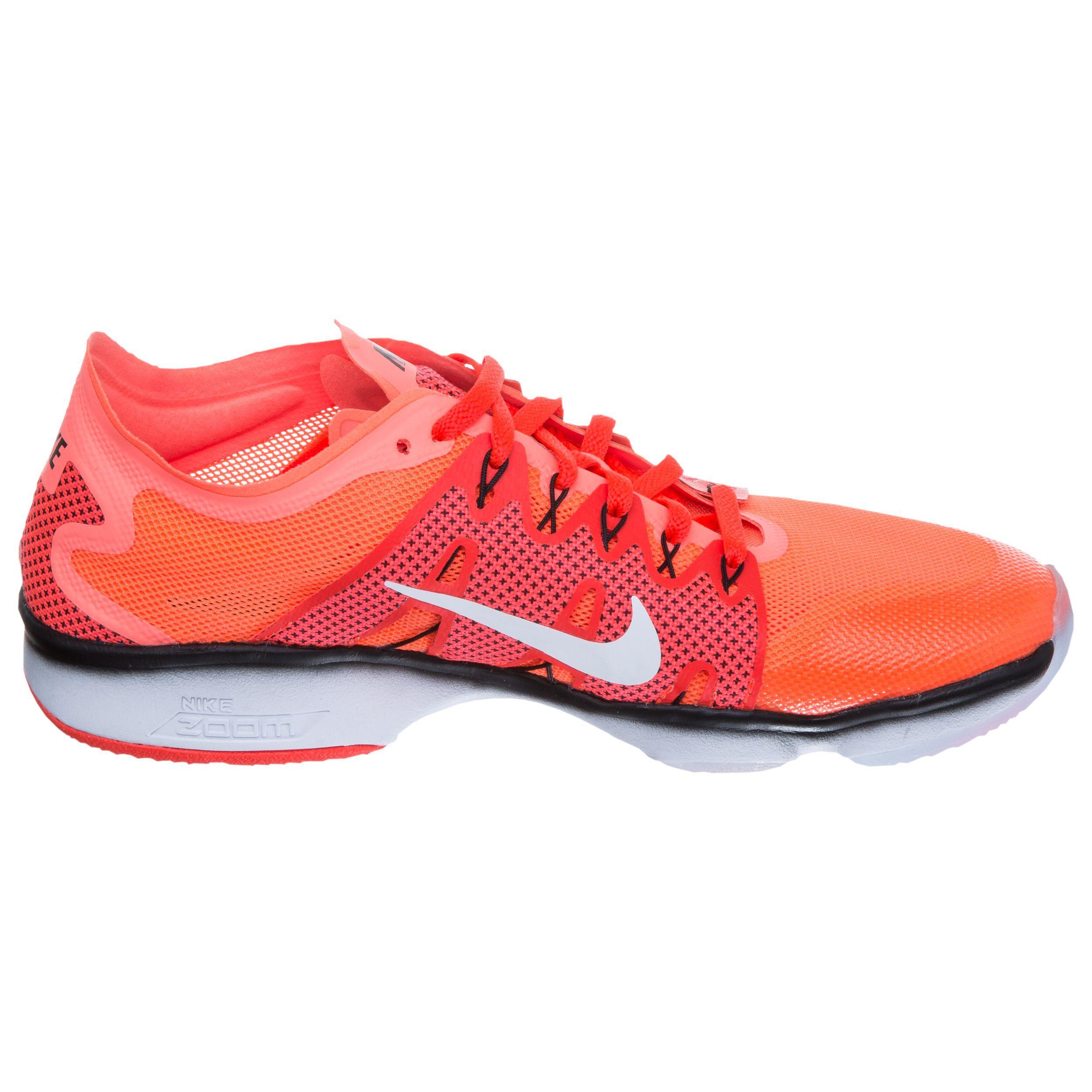Nike Zoom Fit Agility 2 Fitnessschuh Damen Orange, Weiß