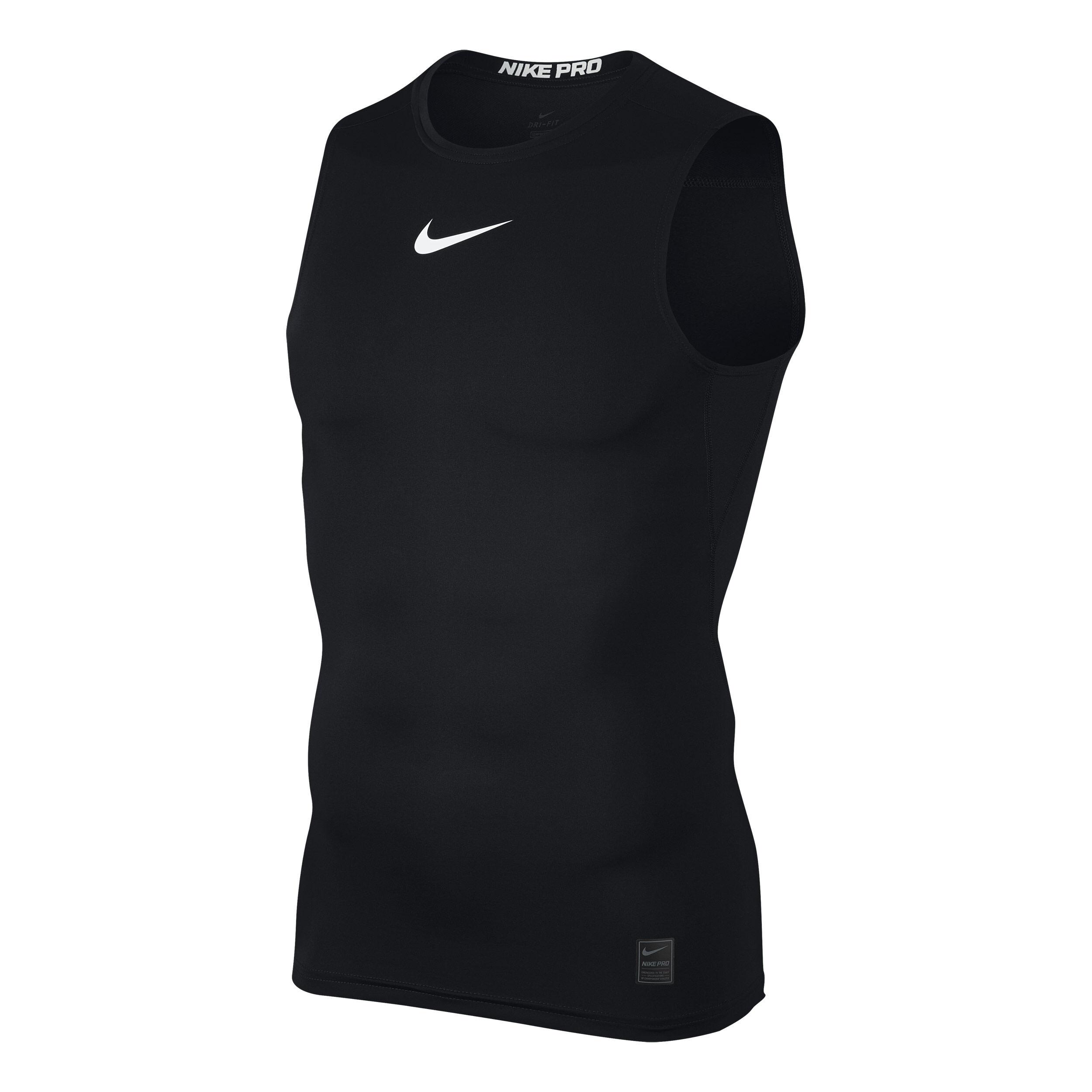 Nike Pro Tank Top Herren Schwarz, Weiß online kaufen